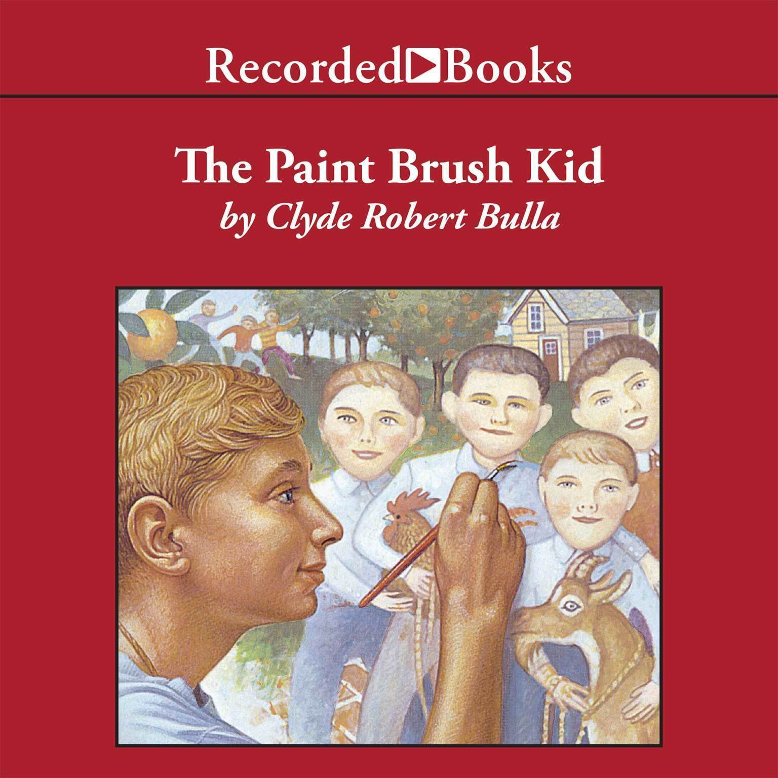 Printable The Paintbrush Kid Audiobook Cover Art