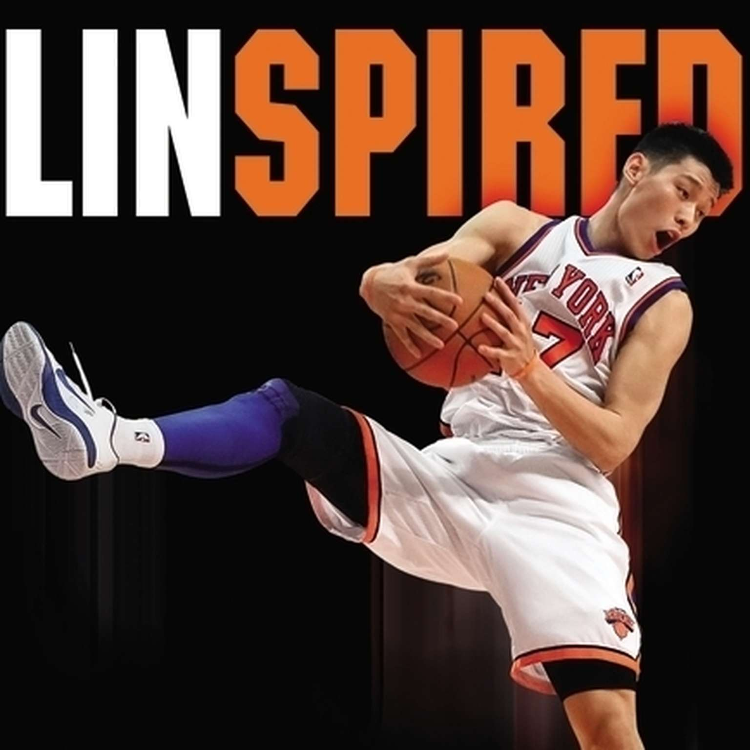 Printable Linspired: The Remarkable Rise of Jeremy Lin Audiobook Cover Art