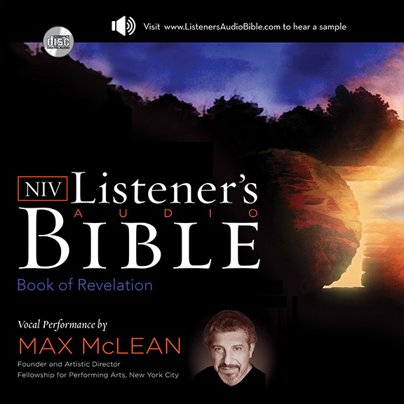 Printable NIV, Listener's Audio Bible, Book of Revelation, Audio Download: Vocal Performance by Max McLean Audiobook Cover Art