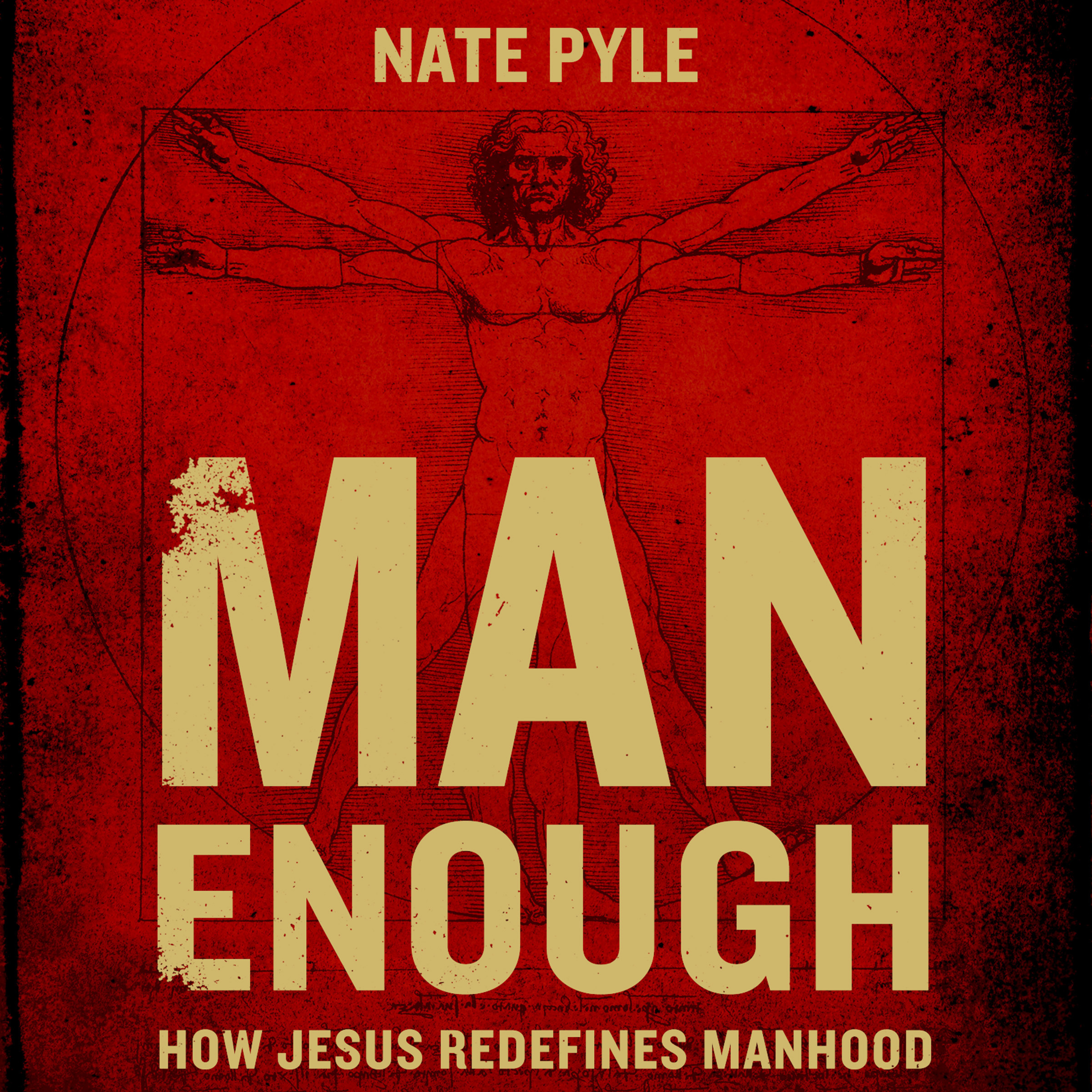Printable Man Enough: How Jesus Redefines Manhood Audiobook Cover Art