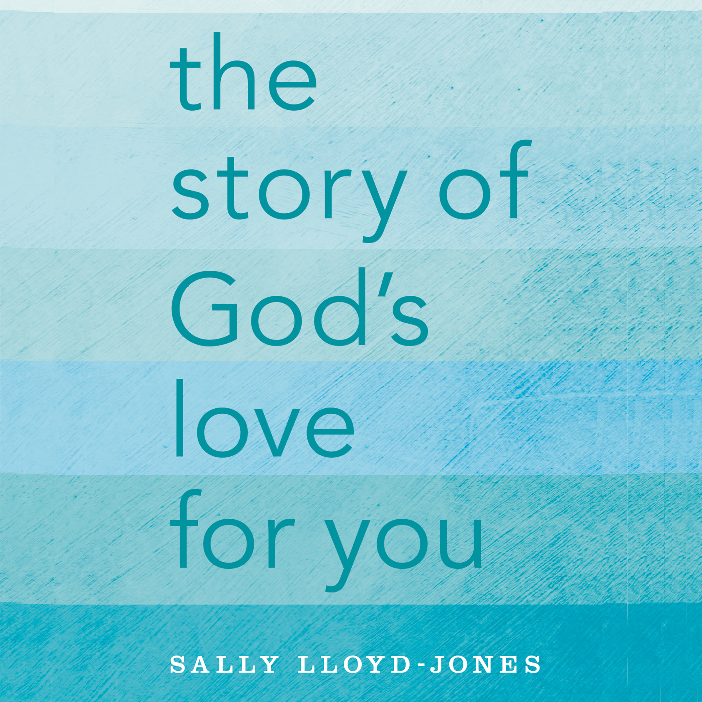 Printable The Story of God's Love for You Audiobook Cover Art