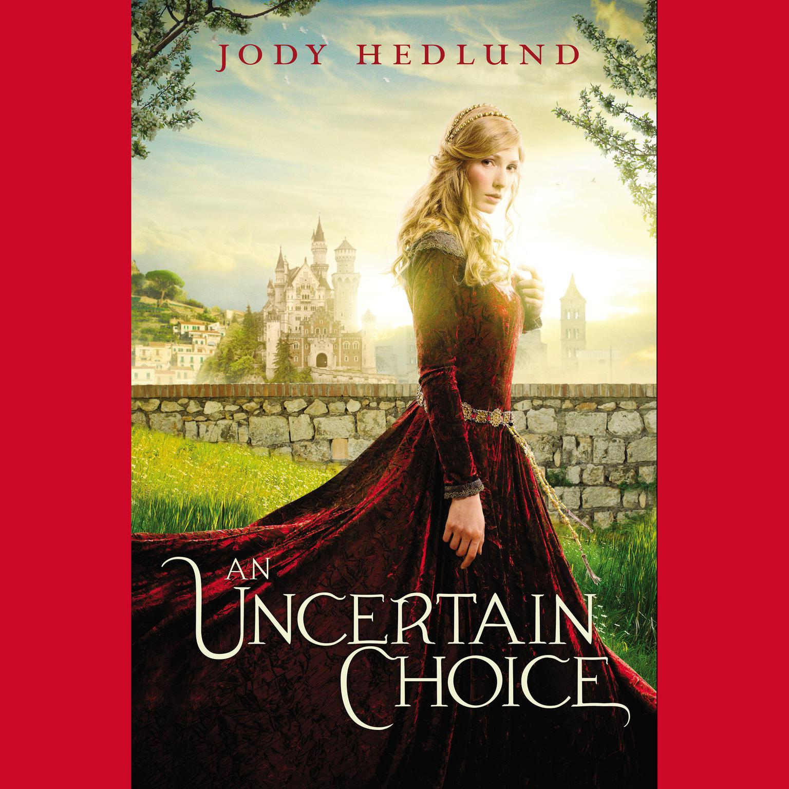 Printable An Uncertain Choice Audiobook Cover Art