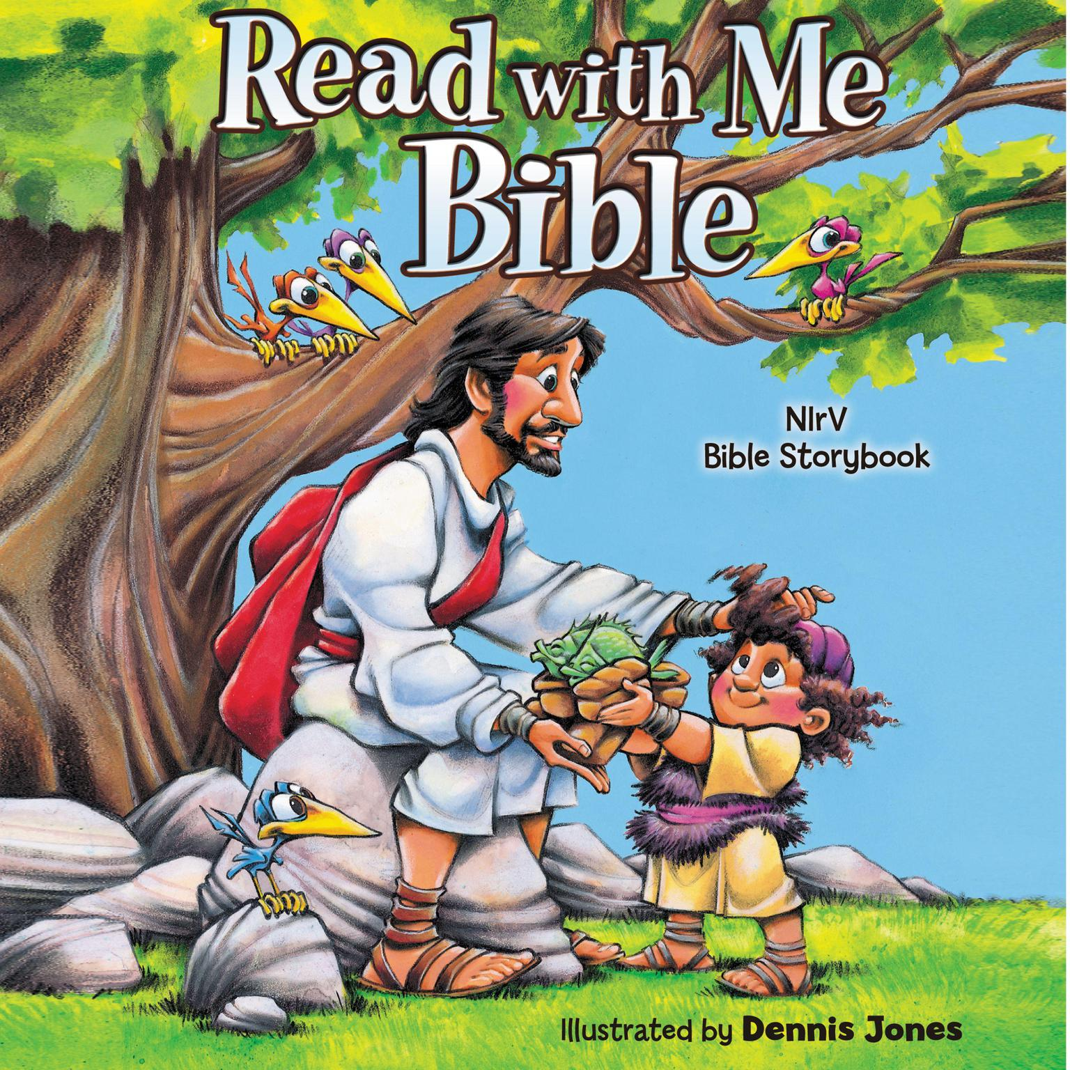 Printable Read with Me Bible, NIrV: NIrV Bible Storybook Audiobook Cover Art