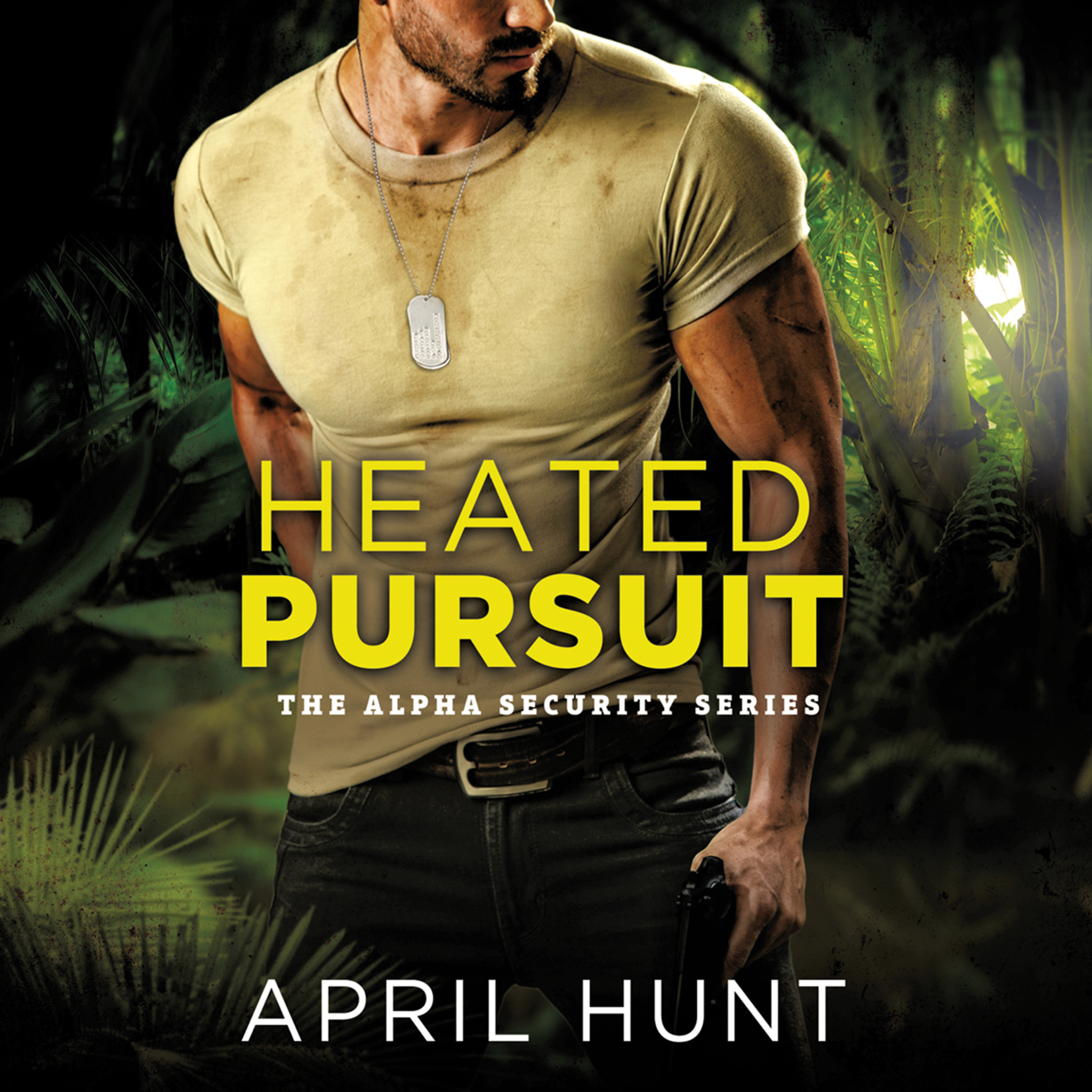 Printable Heated Pursuit Audiobook Cover Art