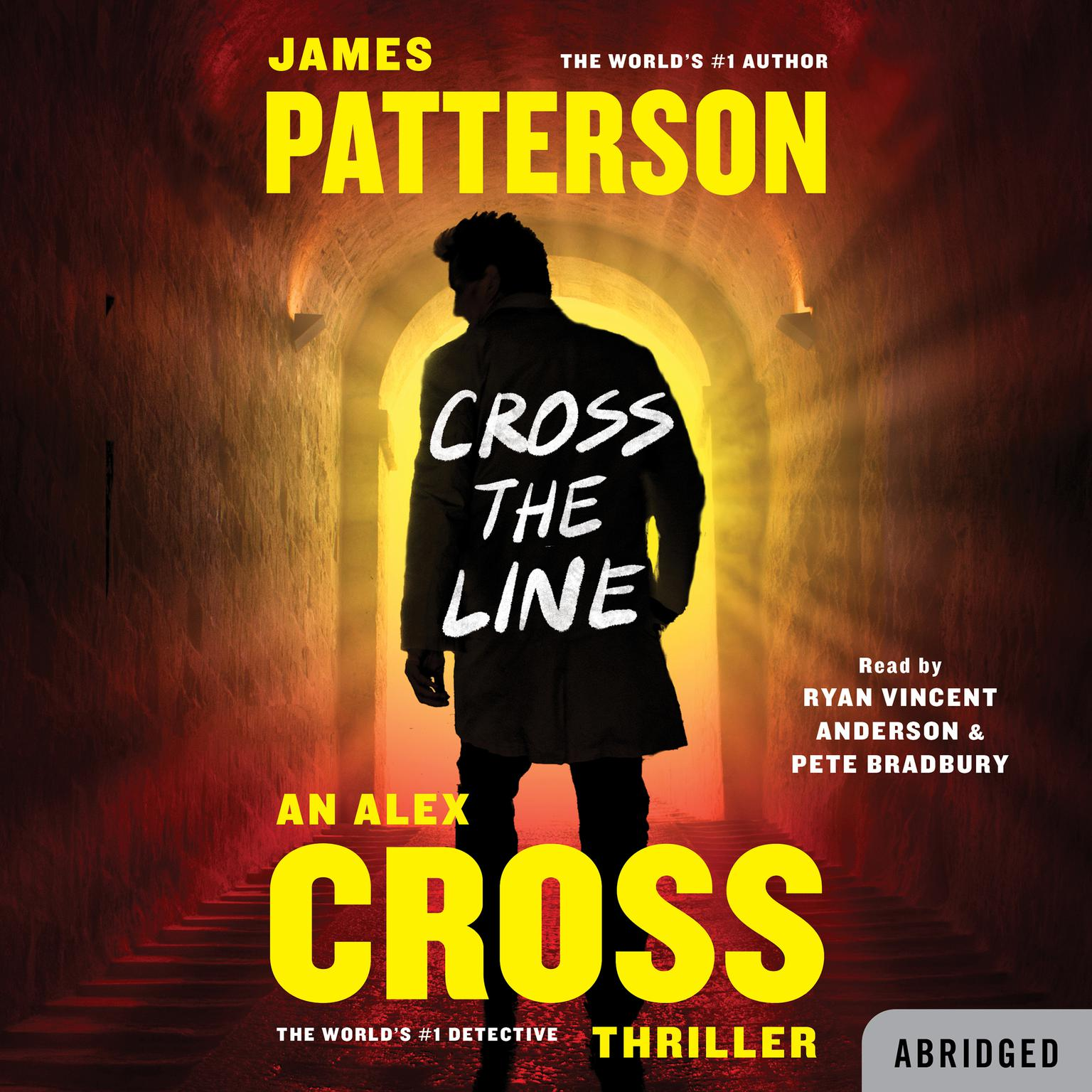 Printable Cross the Line Audiobook Cover Art