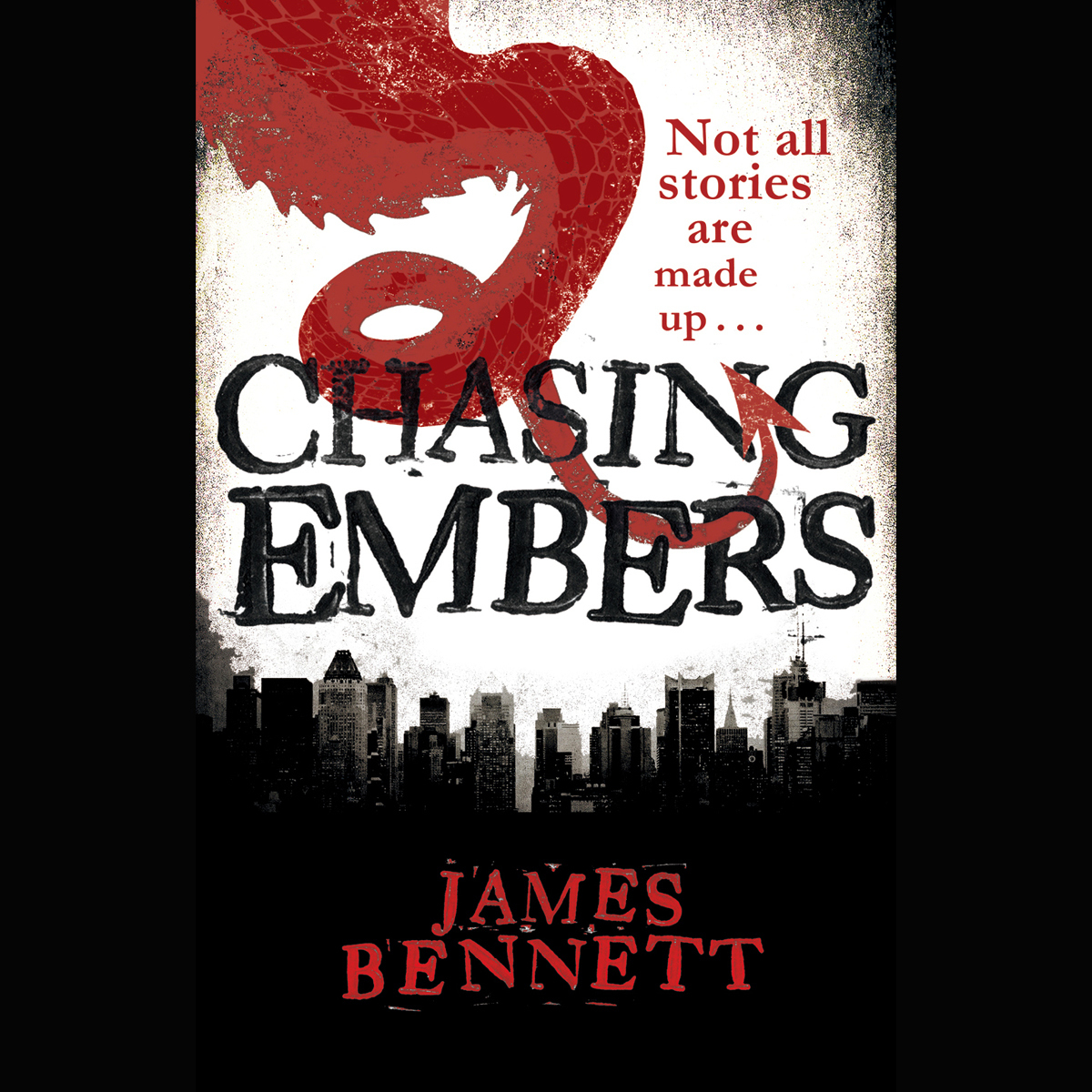 Printable Chasing Embers Audiobook Cover Art