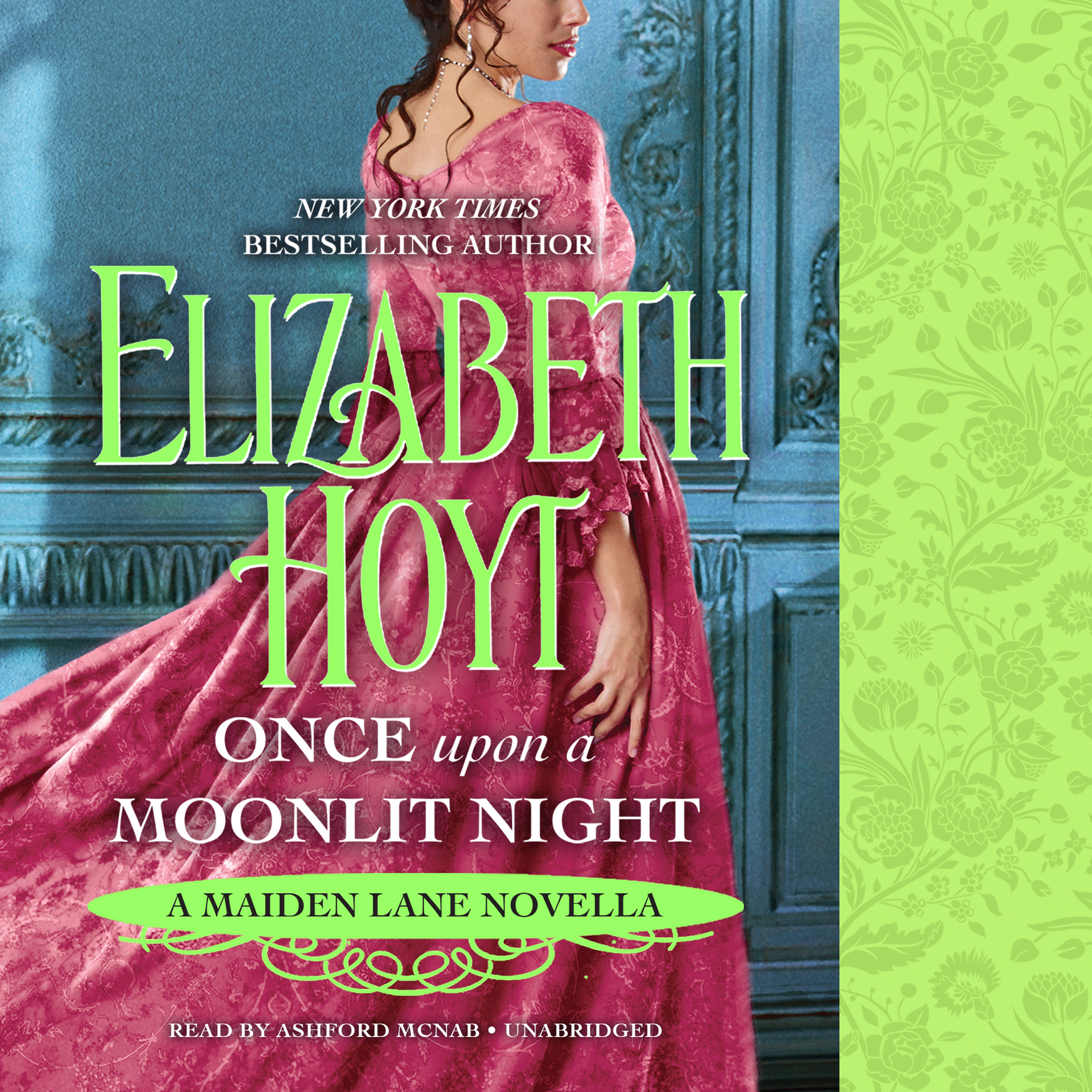 Printable Once Upon a Moonlit Night: A Maiden Lane Novella Audiobook Cover Art