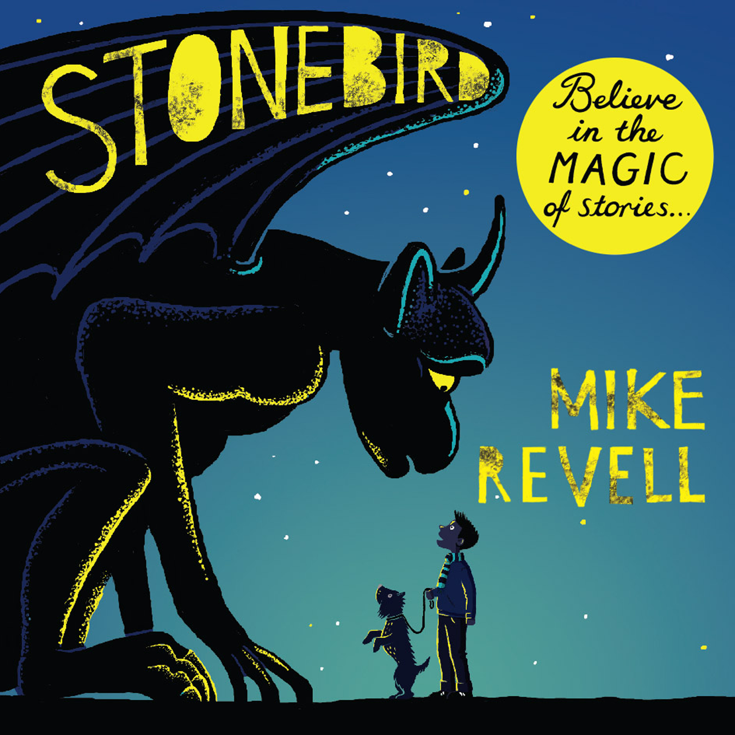 Printable Stonebird Audiobook Cover Art