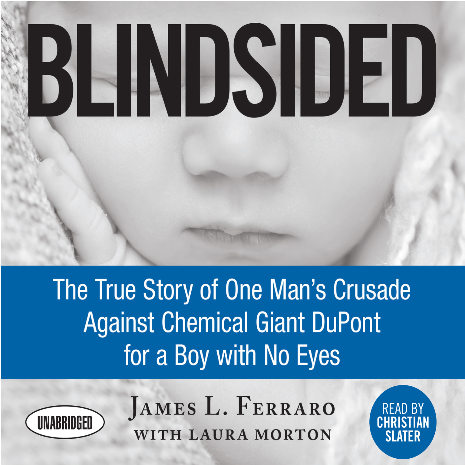 Printable Blindsided: The True Story of One Man's Crusade Against Chemical Giant DuPont for a Boy with No Eyes Audiobook Cover Art