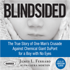 Blindsided: The True Story of One Mans Crusade Against Chemical Giant DuPont for a Boy with No Eyes Audiobook, by James L. Ferraro