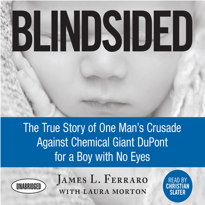 Blindsided: The True Story of One Man's Crusade Against Chemical Giant DuPont for a Boy with No Eyes Audiobook, by
