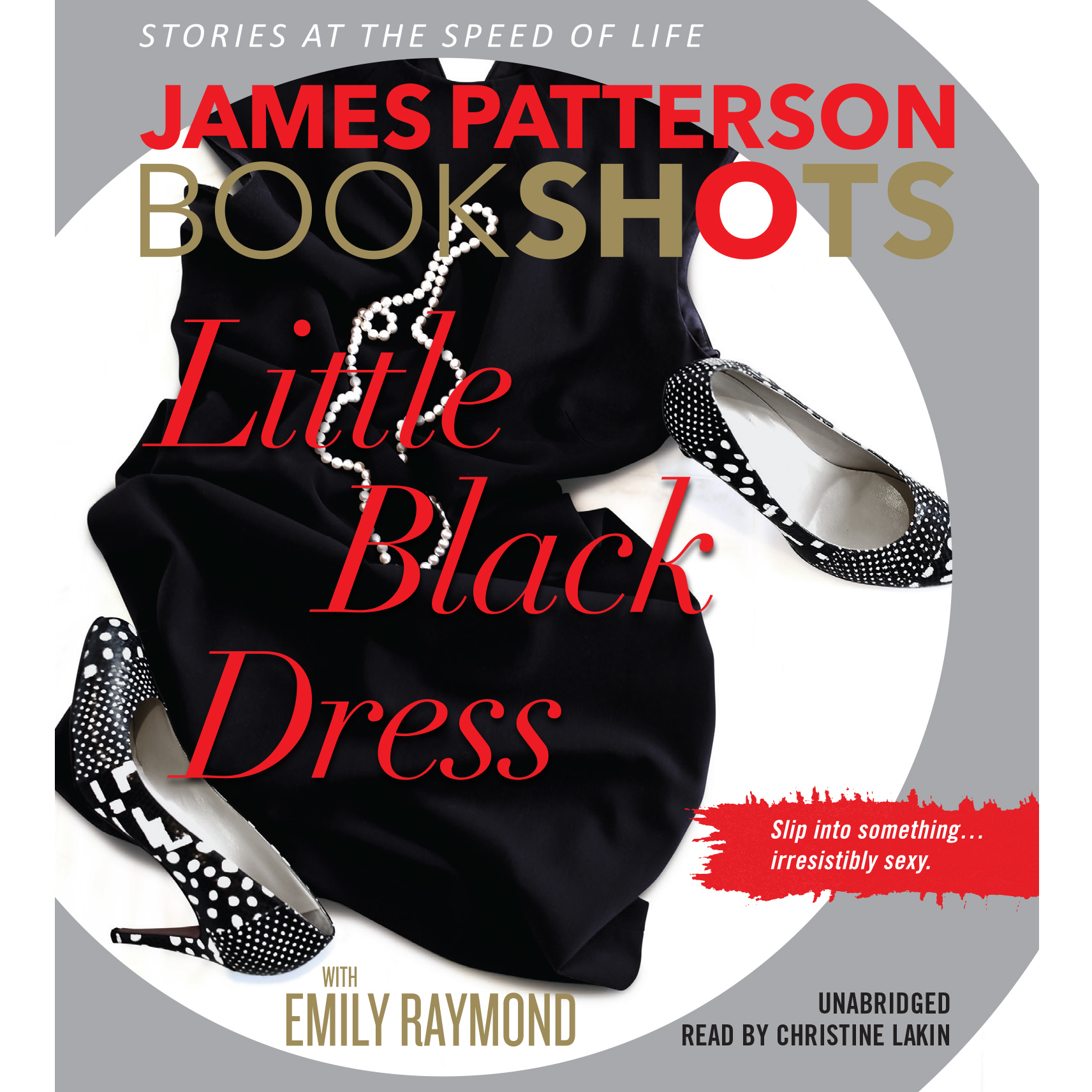 Printable Little Black Dress Audiobook Cover Art