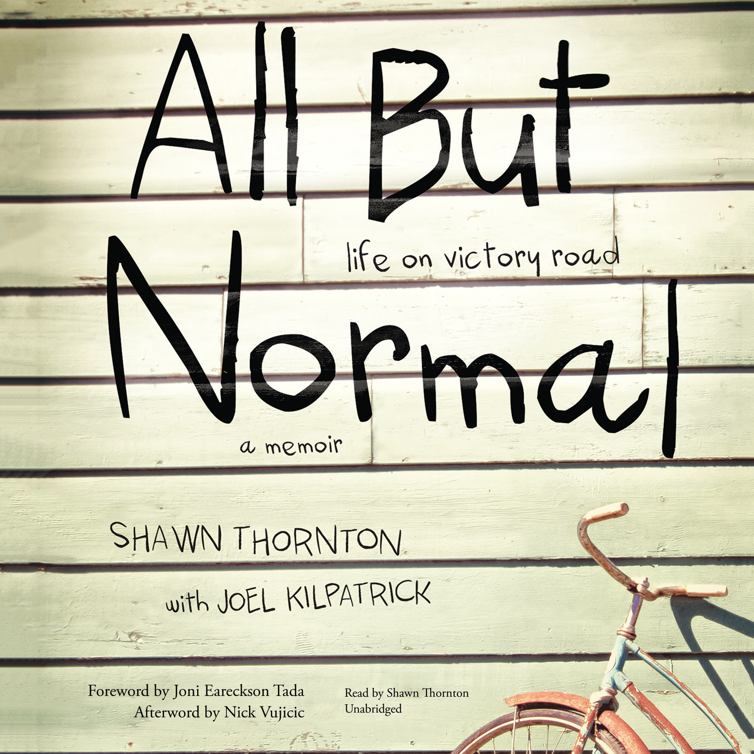 Printable All but Normal: Life on Victory Road; A Memoir Audiobook Cover Art