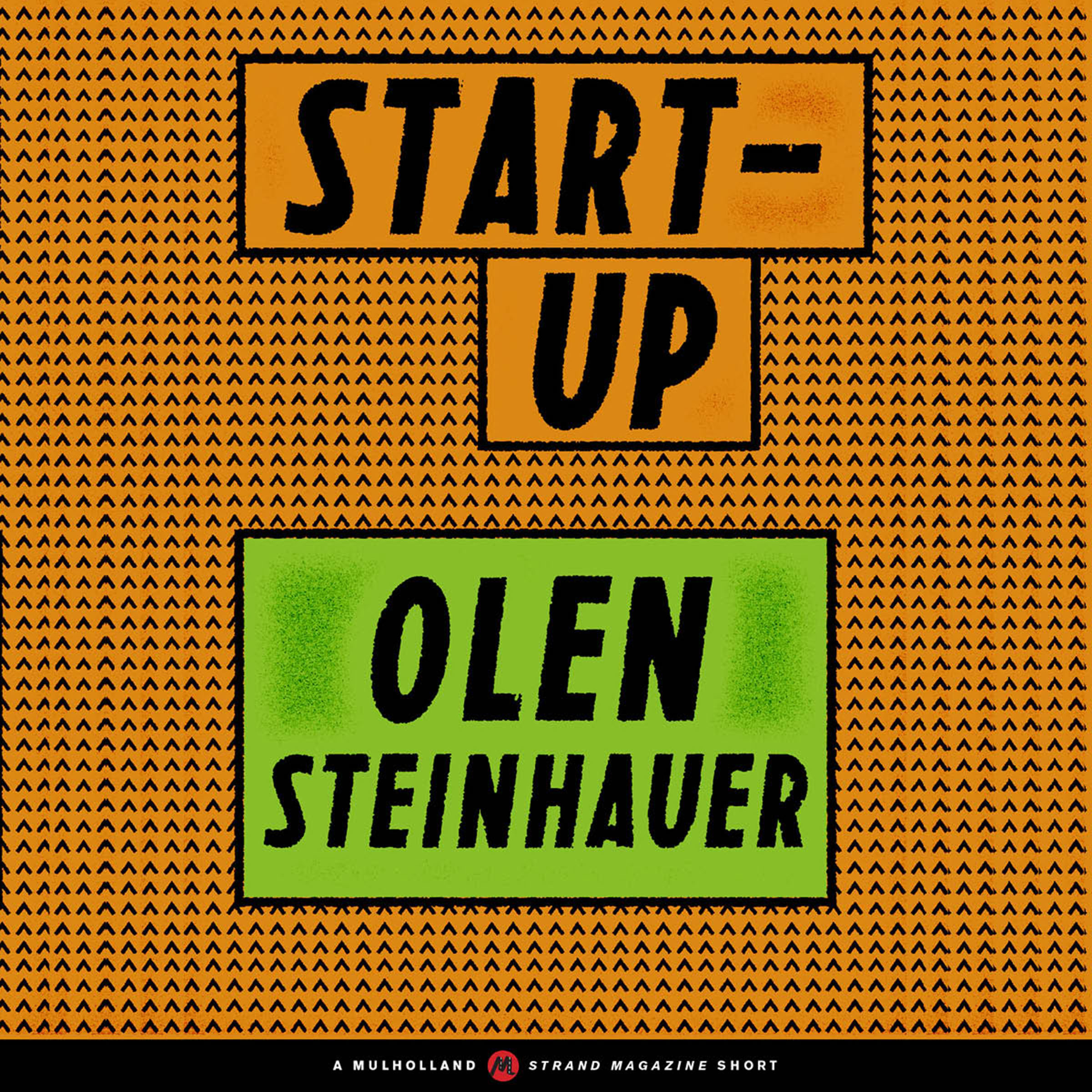 Printable Start-Up Audiobook Cover Art