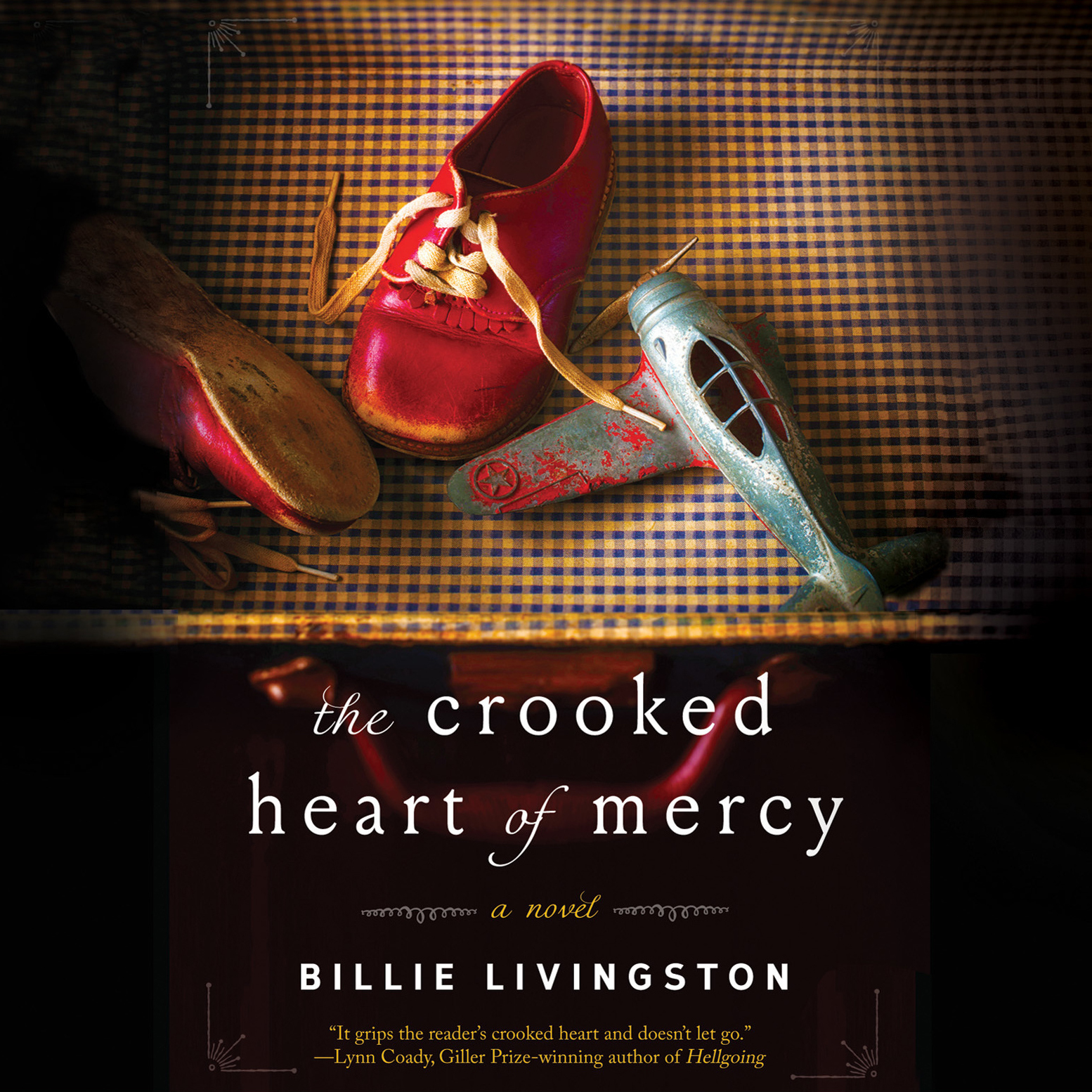Printable The Crooked Heart of Mercy Audiobook Cover Art