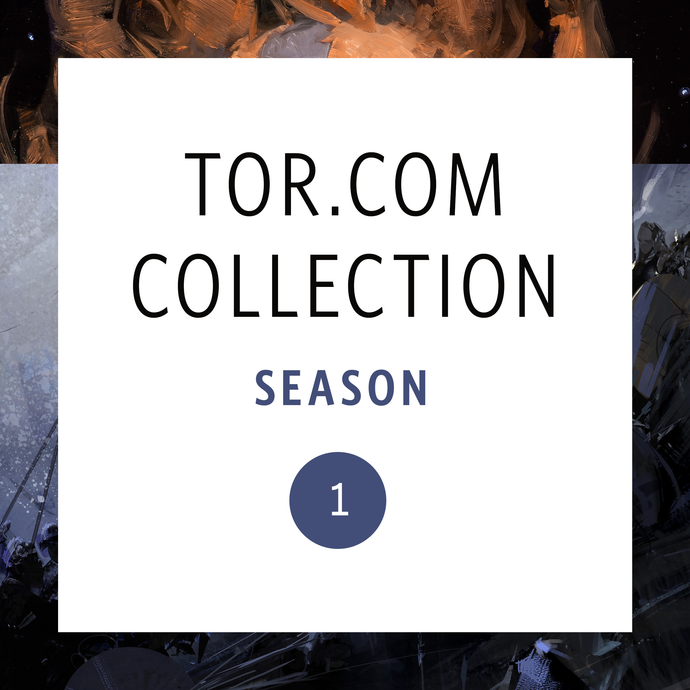 Printable Tor.com Collection: Season 1 Audiobook Cover Art