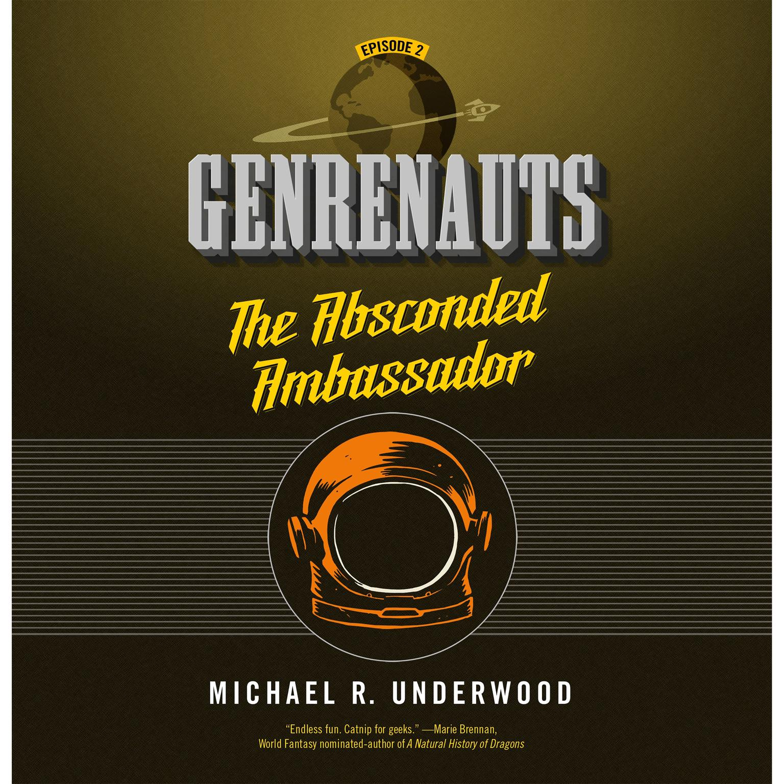 Printable The Absconded Ambassador: Genrenauts Episode 2 Audiobook Cover Art