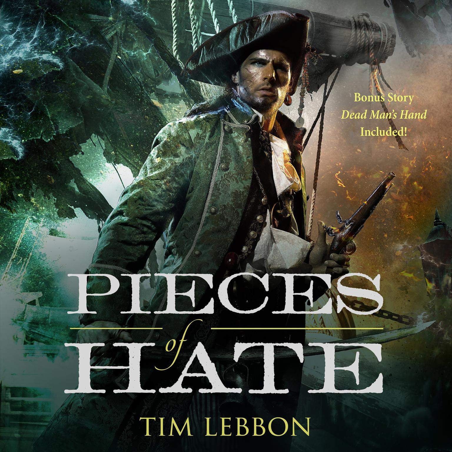"Printable Pieces of Hate: with ""Dead Man's Hand"" Audiobook Cover Art"