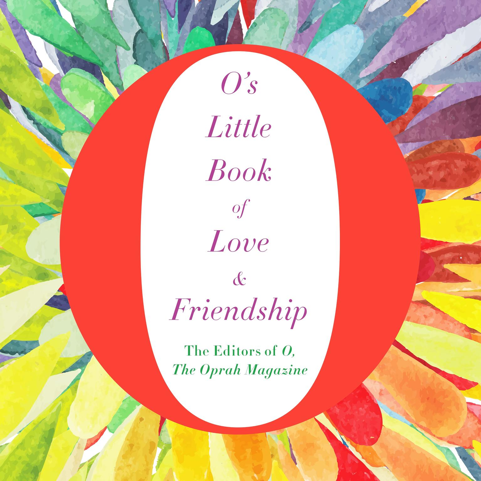 Printable O's Little Book of Love & Friendship Audiobook Cover Art