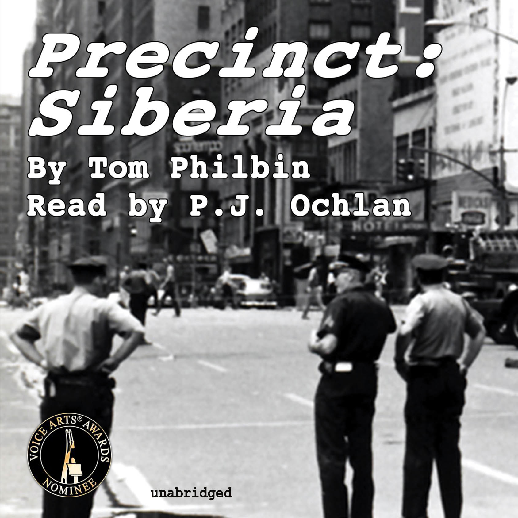 Printable Precinct: Siberia Audiobook Cover Art