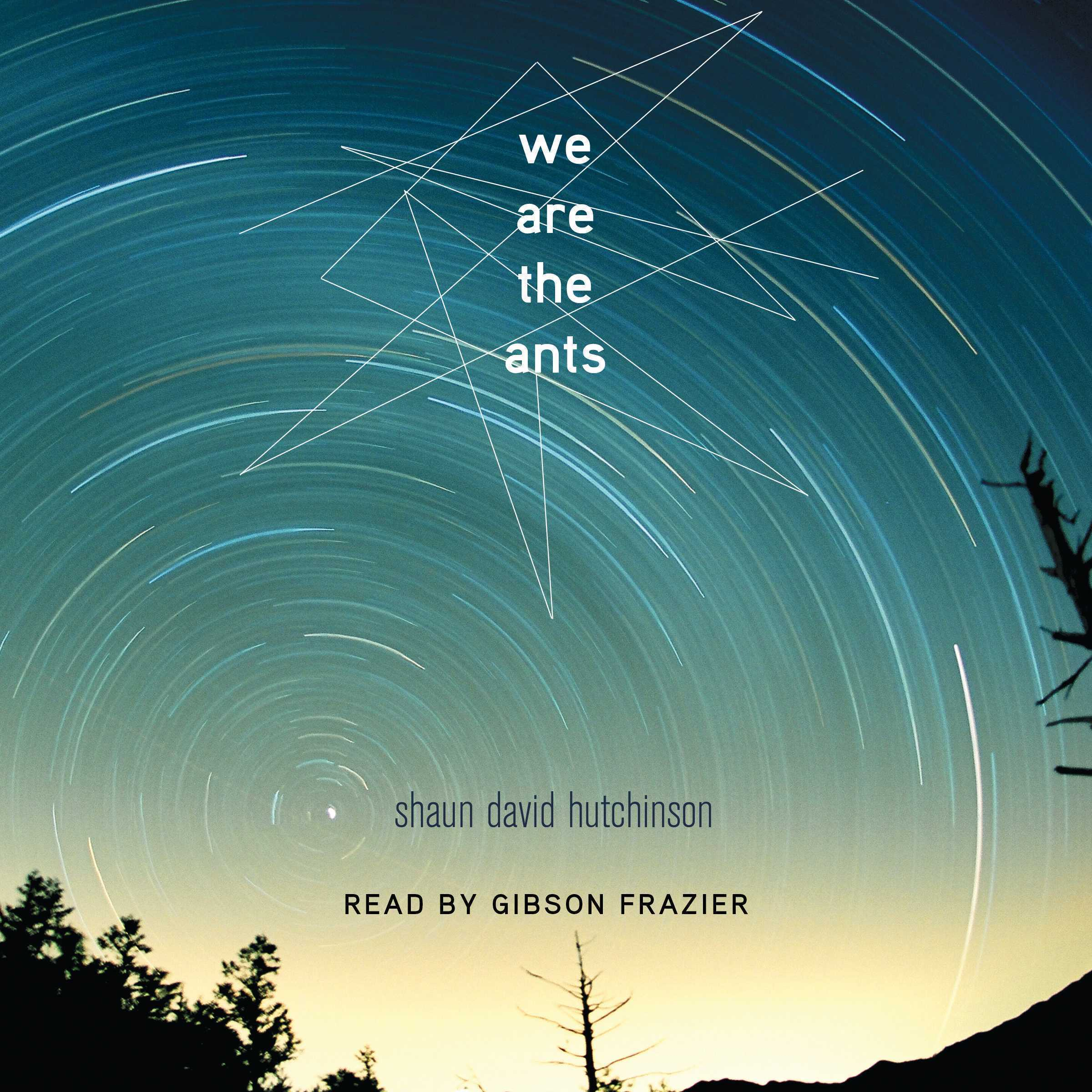 Printable We Are the Ants Audiobook Cover Art