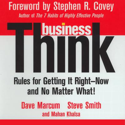 Business Think Audiobook, by David Marcum
