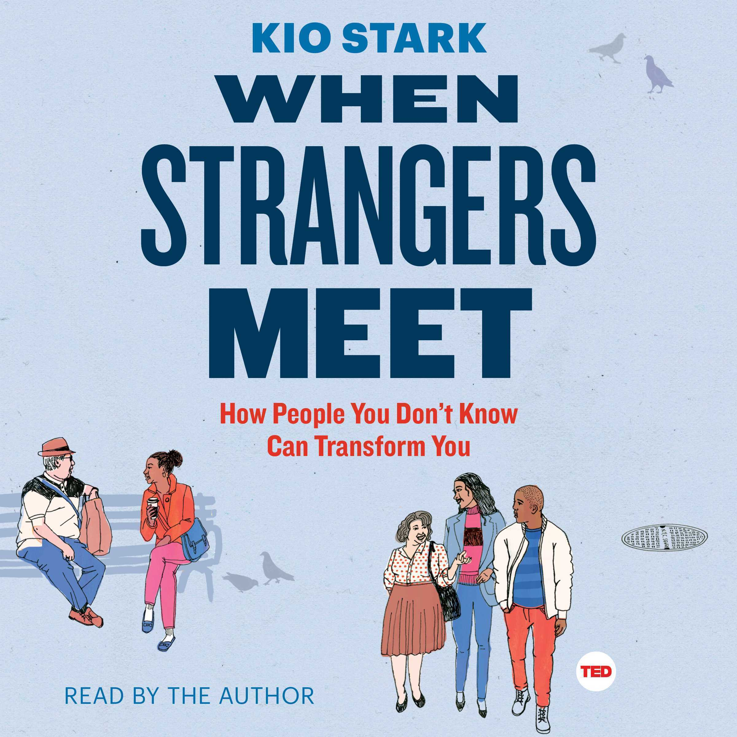 Printable When Strangers Meet Audiobook Cover Art