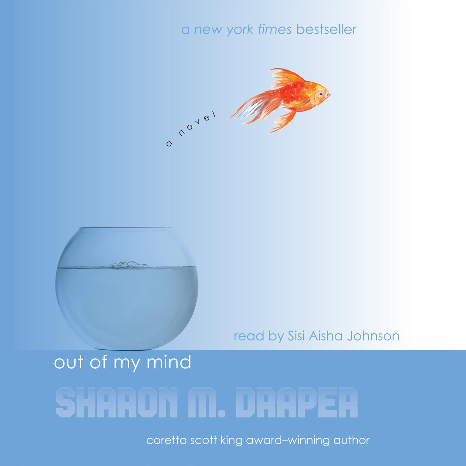 Printable Out of My Mind Audiobook Cover Art