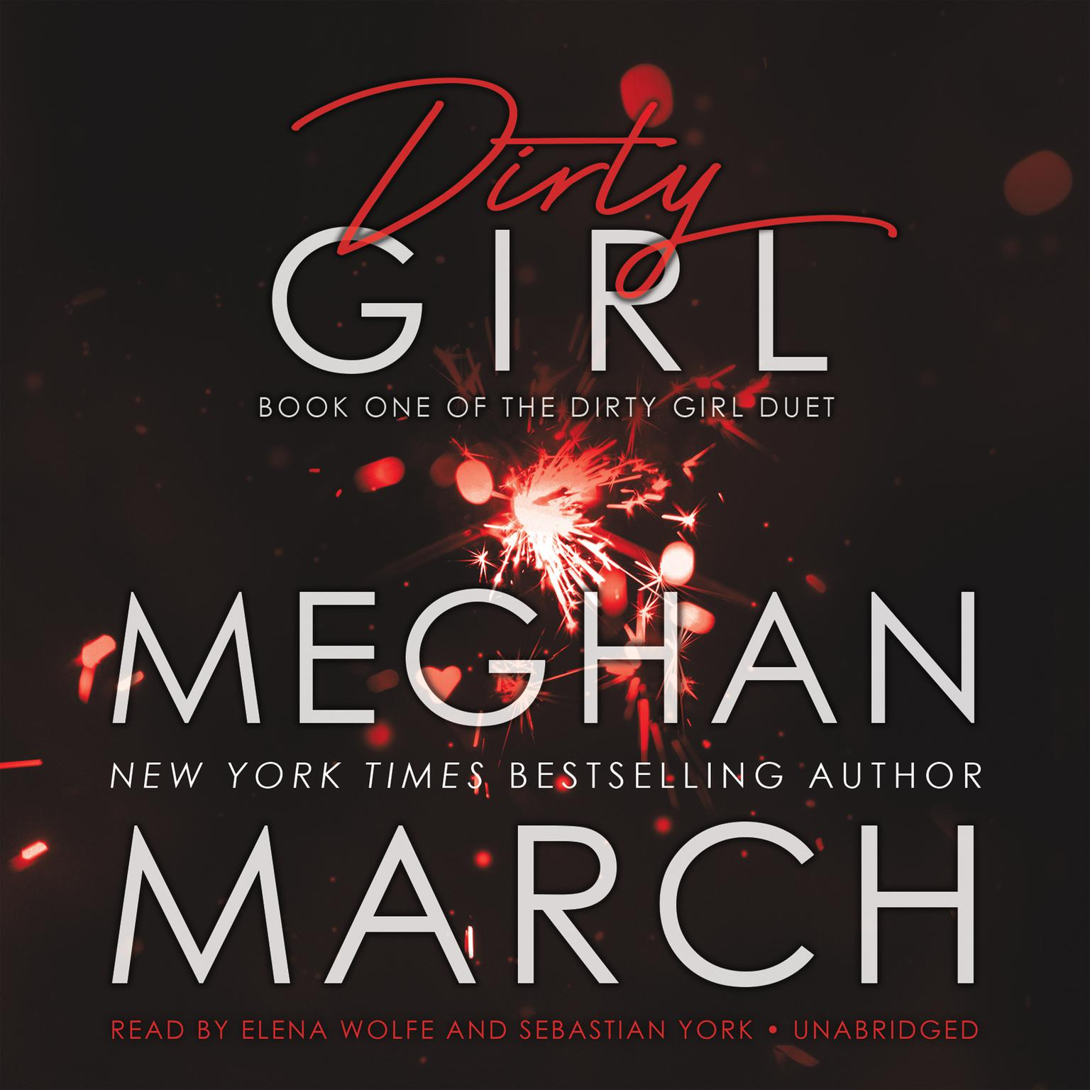 Printable Dirty Girl Audiobook Cover Art