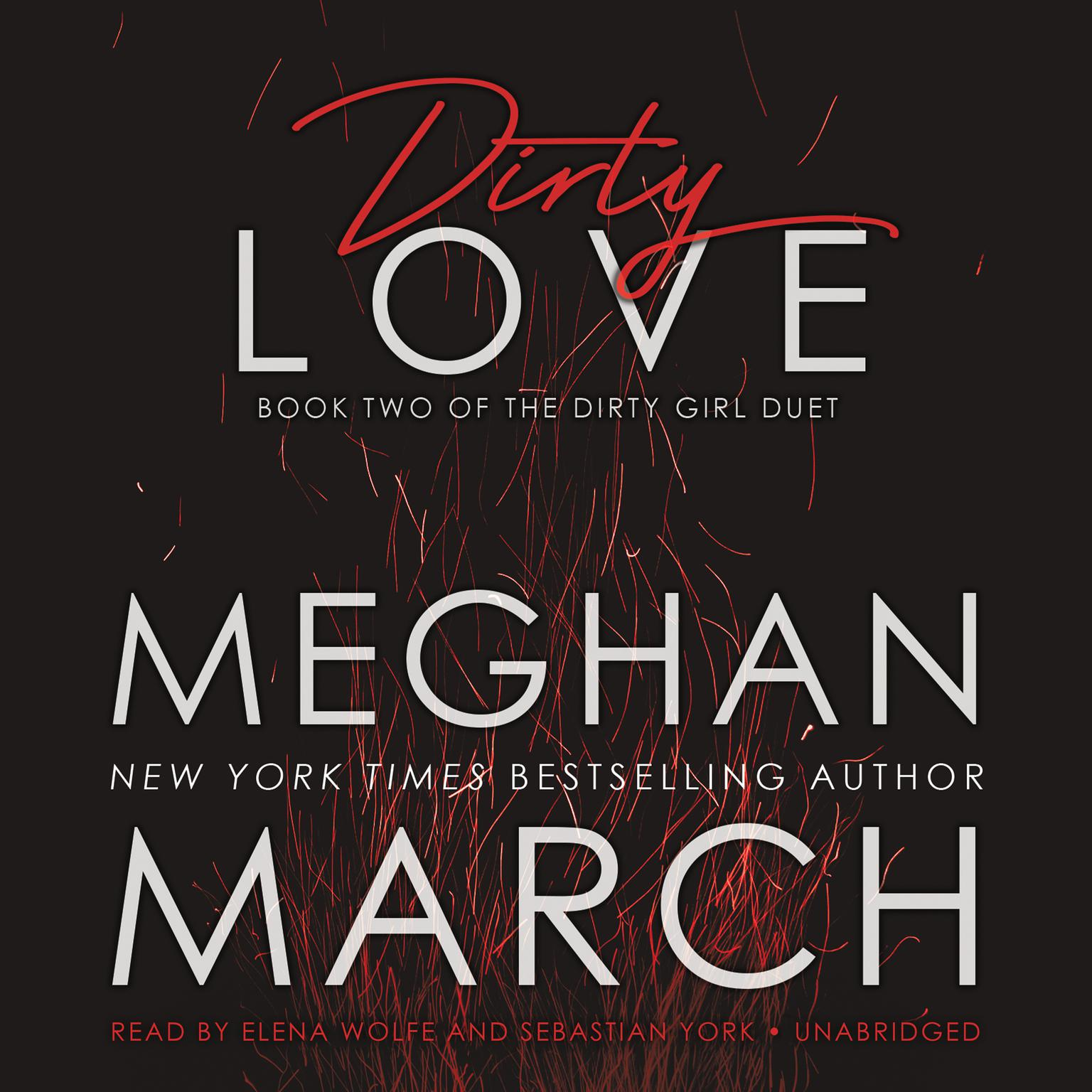 Printable Dirty Love Audiobook Cover Art