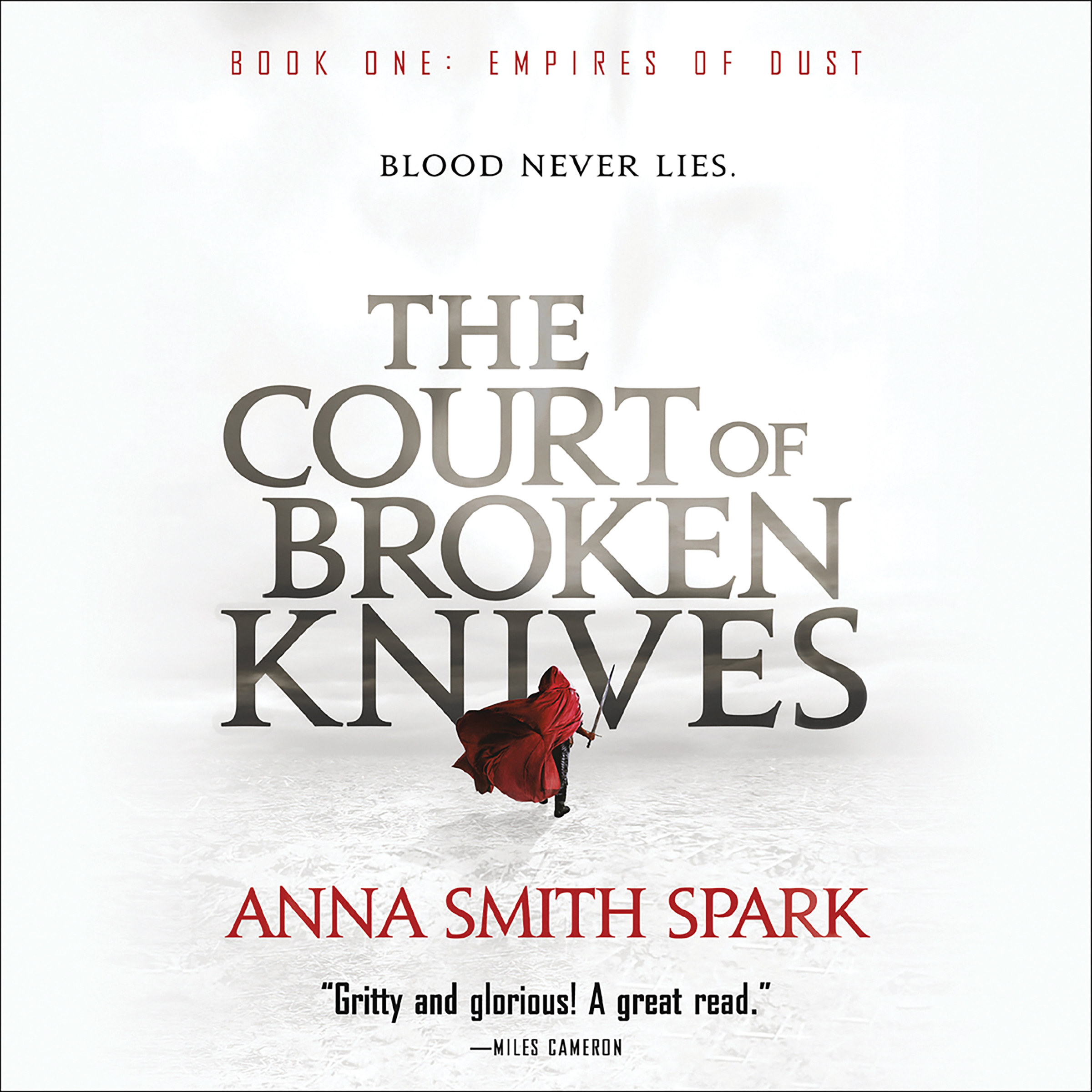 Printable The Court of Broken Knives Audiobook Cover Art