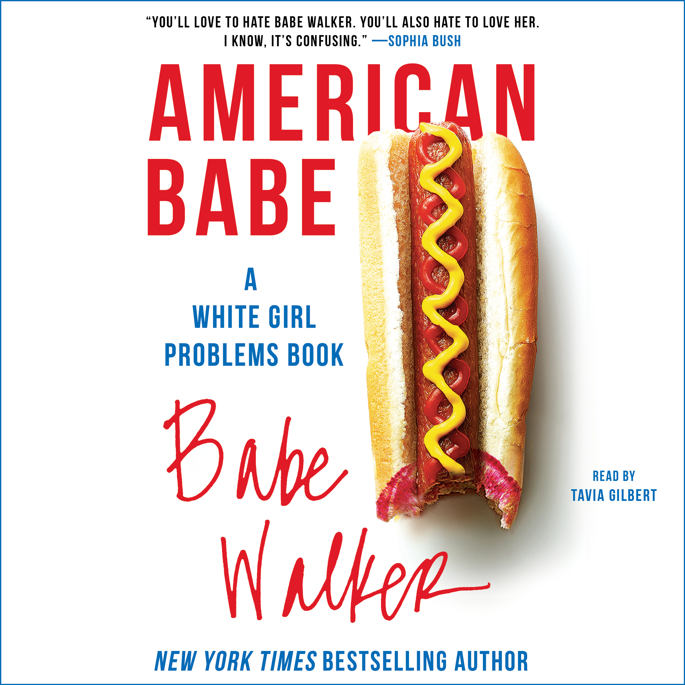 Printable American Babe: A White Girl Problems Book Audiobook Cover Art