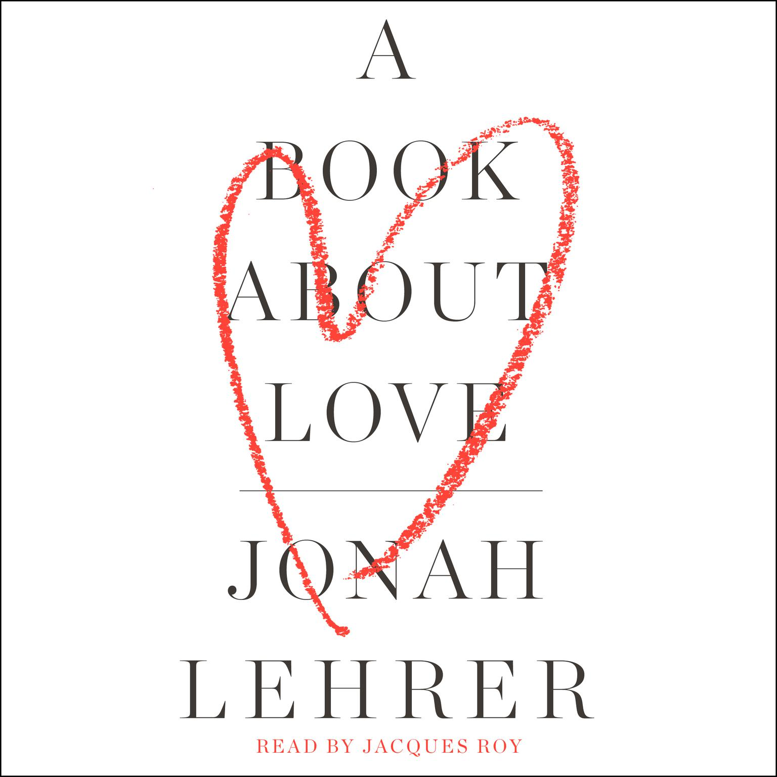 Printable A Book about Love Audiobook Cover Art