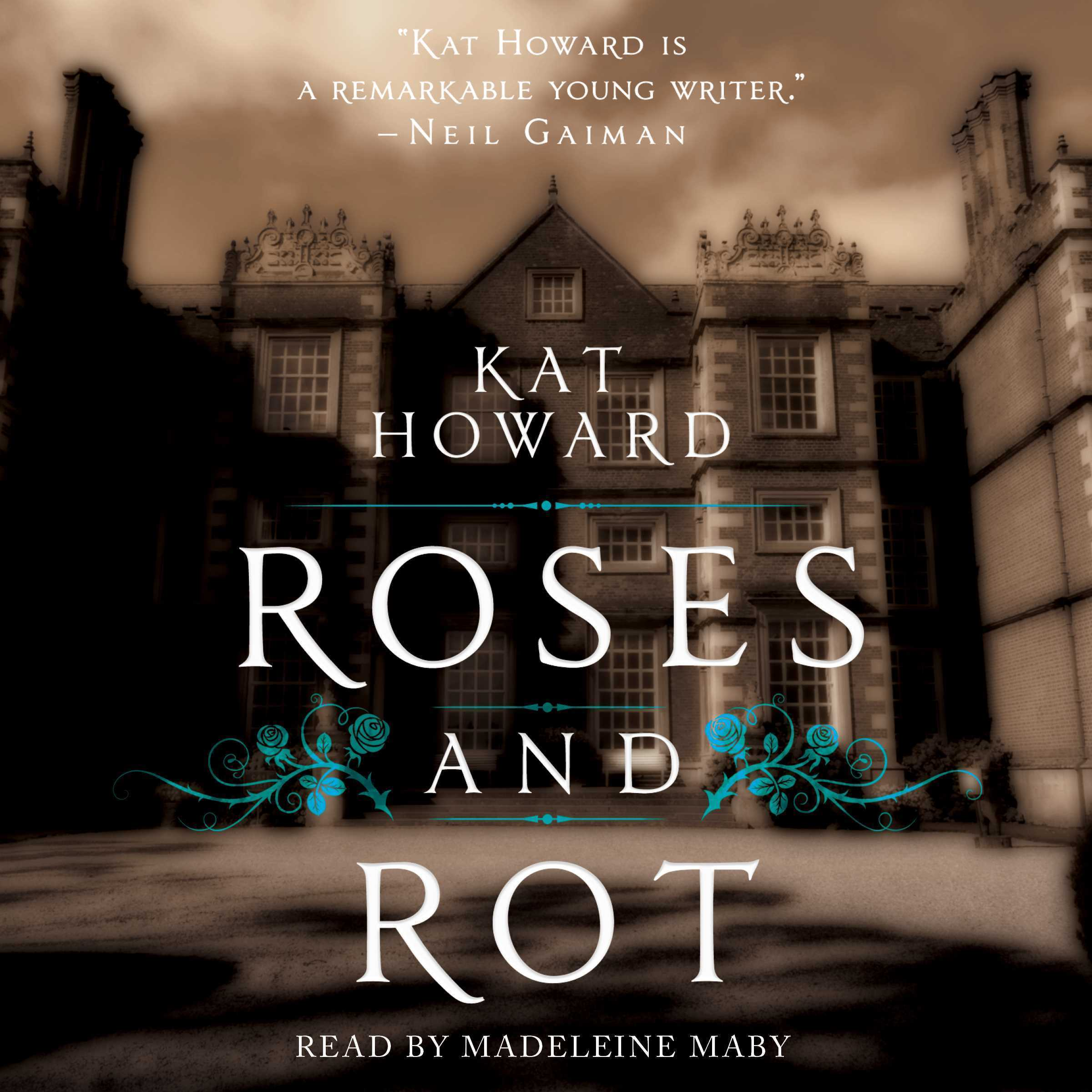 Printable Roses and Rot Audiobook Cover Art
