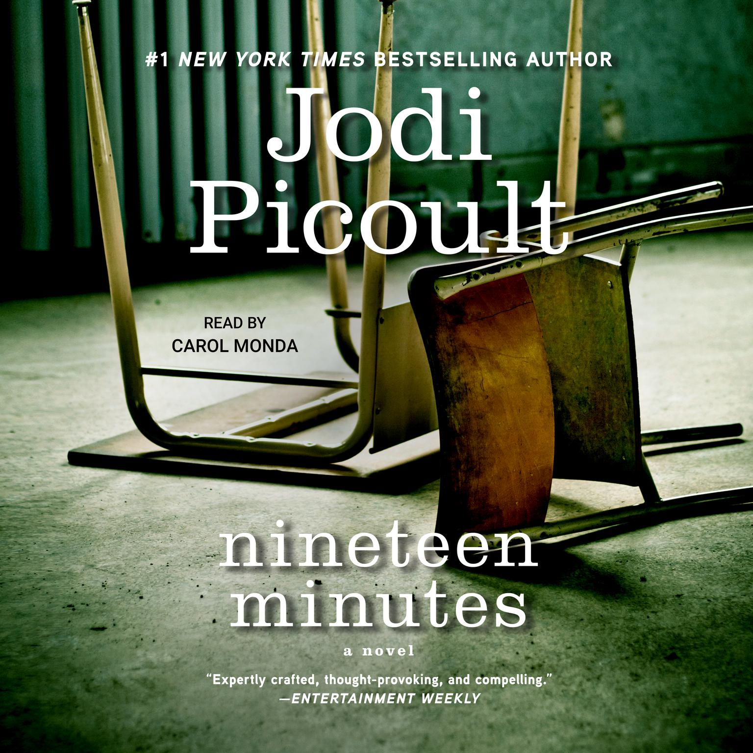 Printable Nineteen Minutes: A novel Audiobook Cover Art
