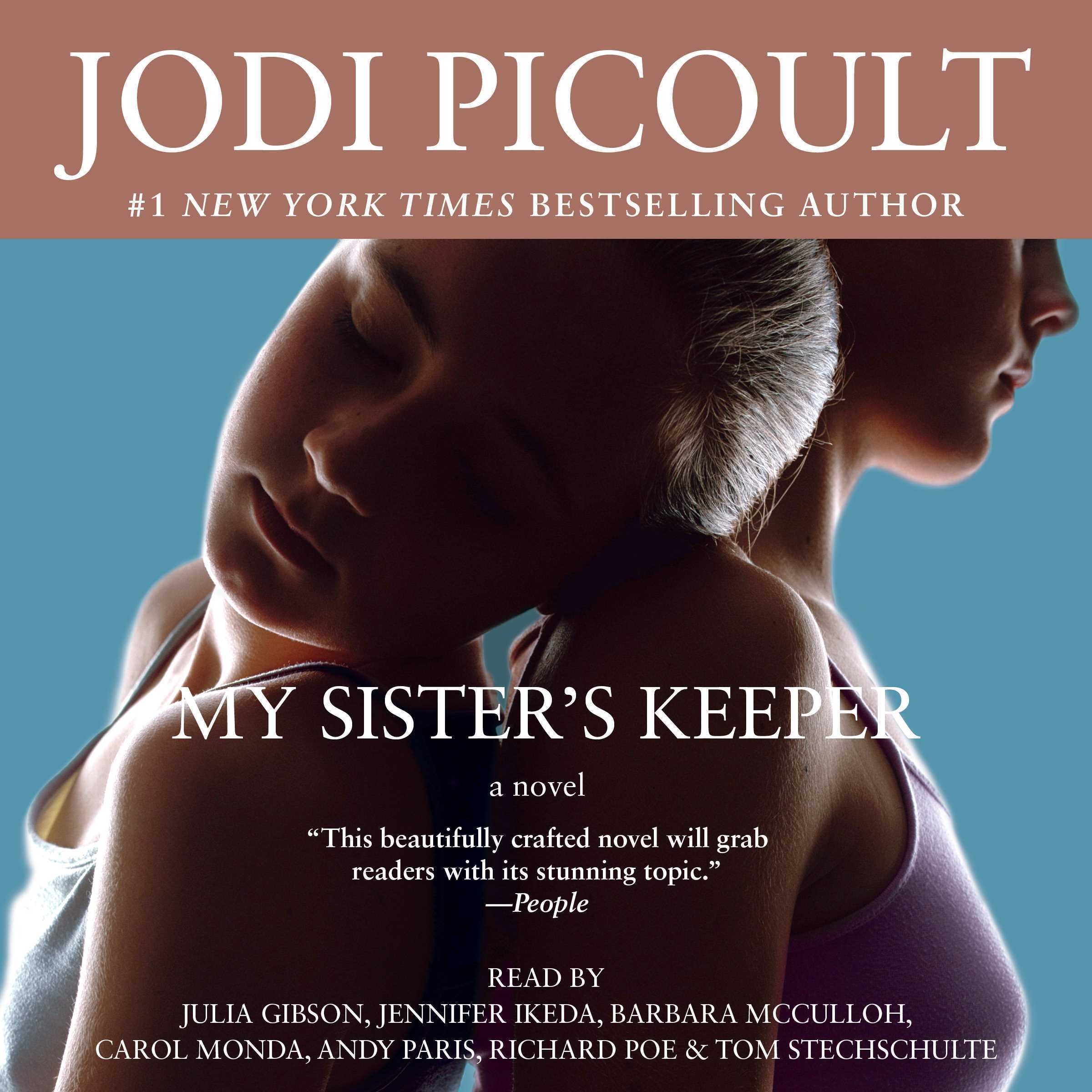 Printable My Sister's Keeper: A Novel Audiobook Cover Art