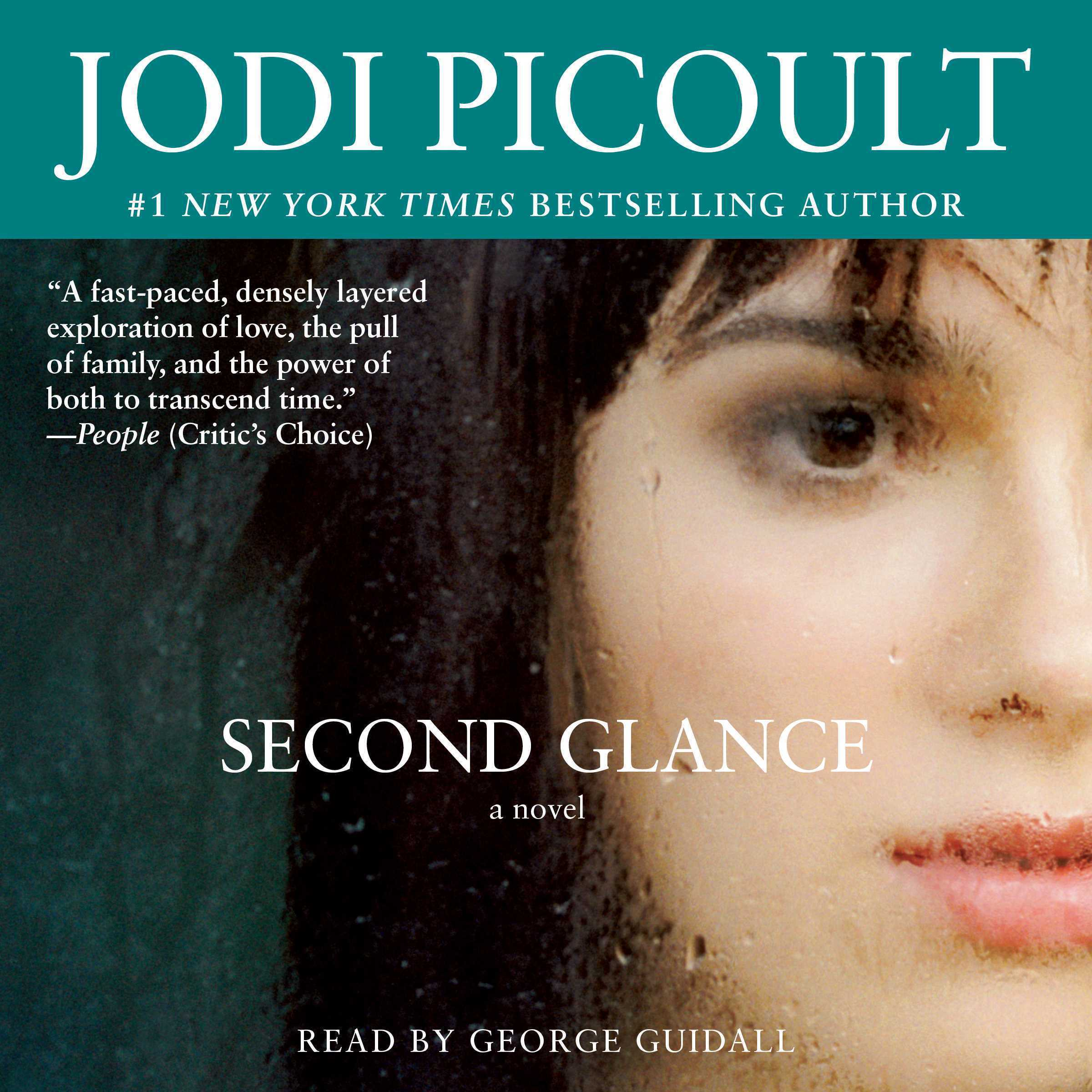 Printable Second Glance: A Novel Audiobook Cover Art