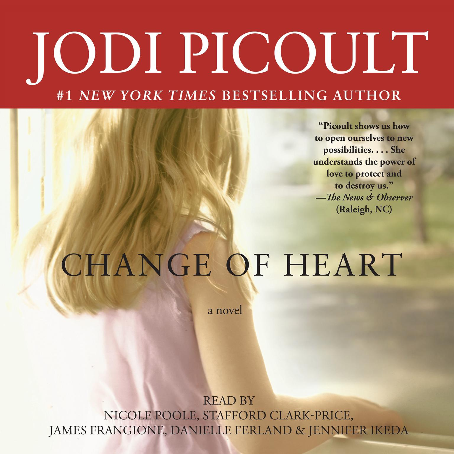 Printable Change of Heart: A Novel Audiobook Cover Art