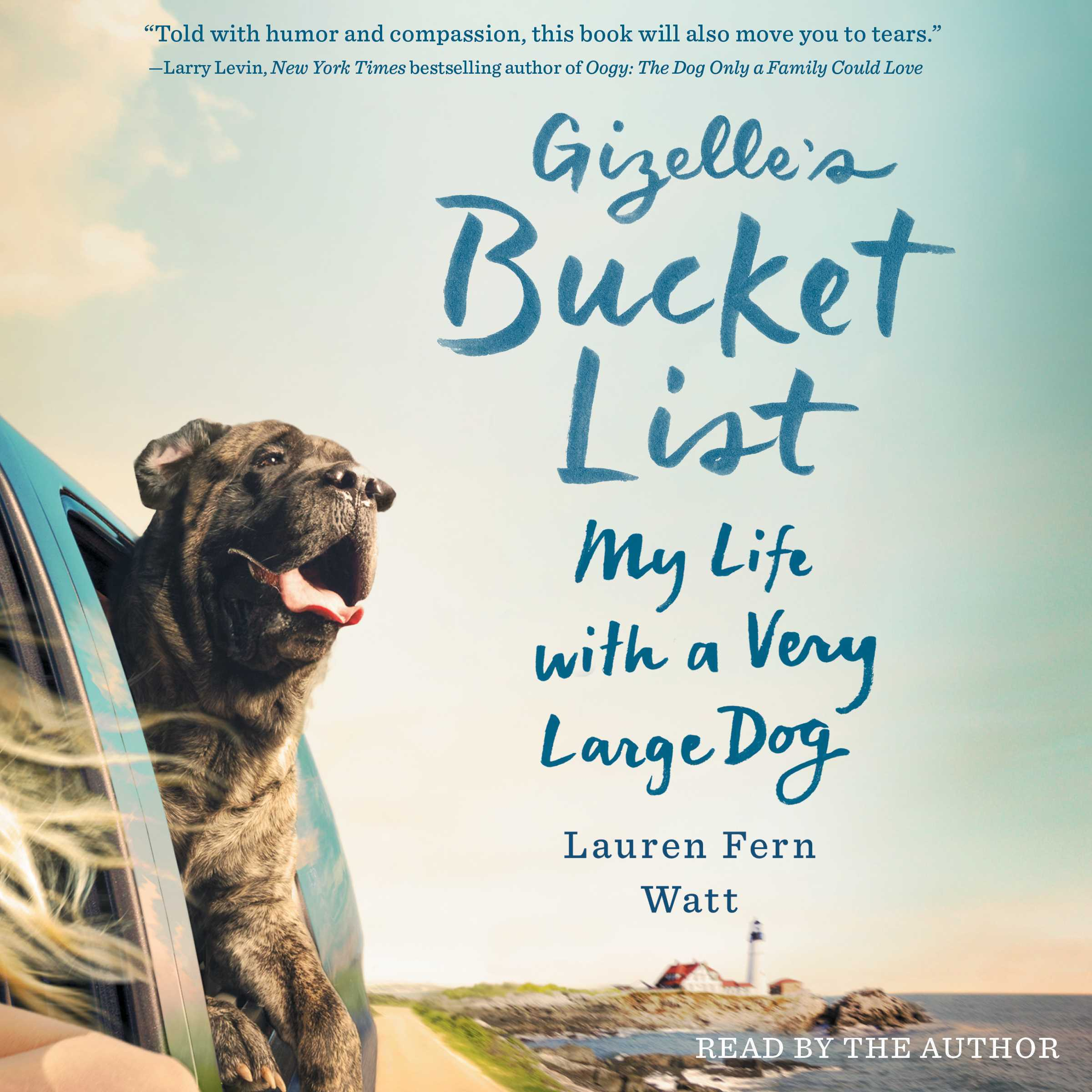 Printable Gizelle's Bucket List: My Big Adventure with a Very Big Dog Audiobook Cover Art
