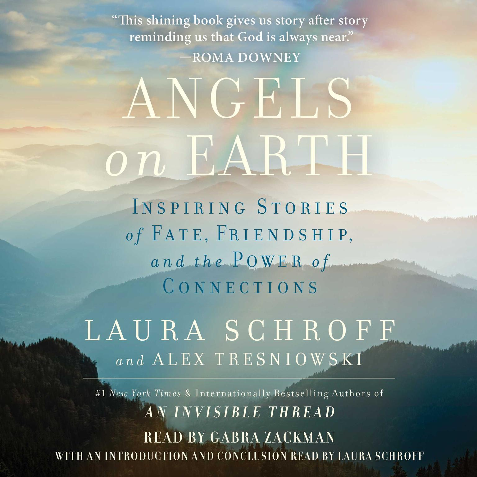 Printable Angels on Earth: Inspiring Stories of Fate, Friendship, and the Power of Connections Audiobook Cover Art