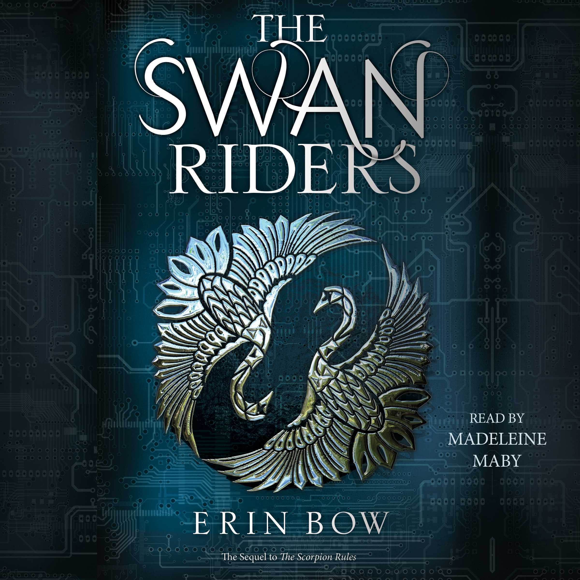 Printable The Swan Riders Audiobook Cover Art