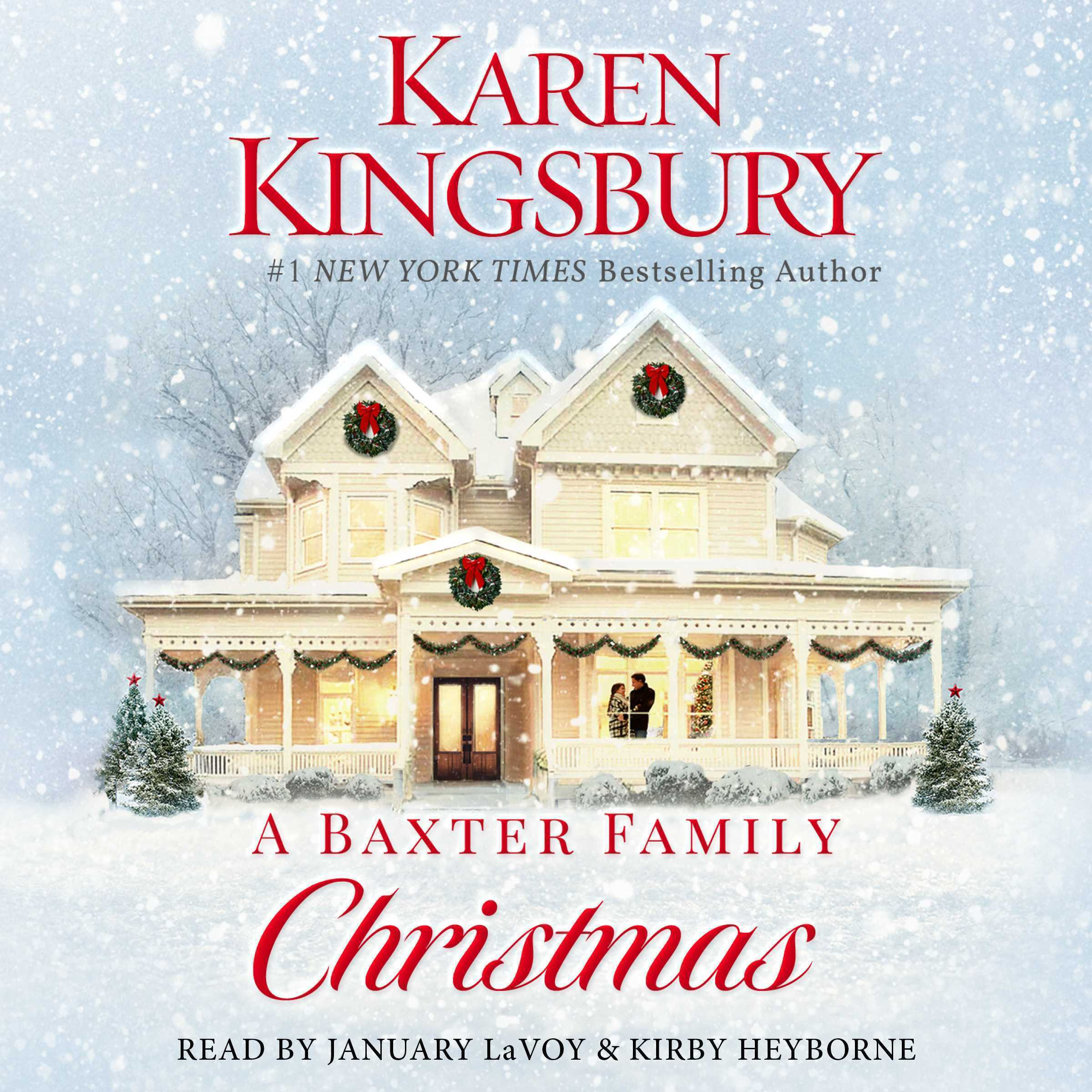 Printable A Baxter Family Christmas: A Novel Audiobook Cover Art