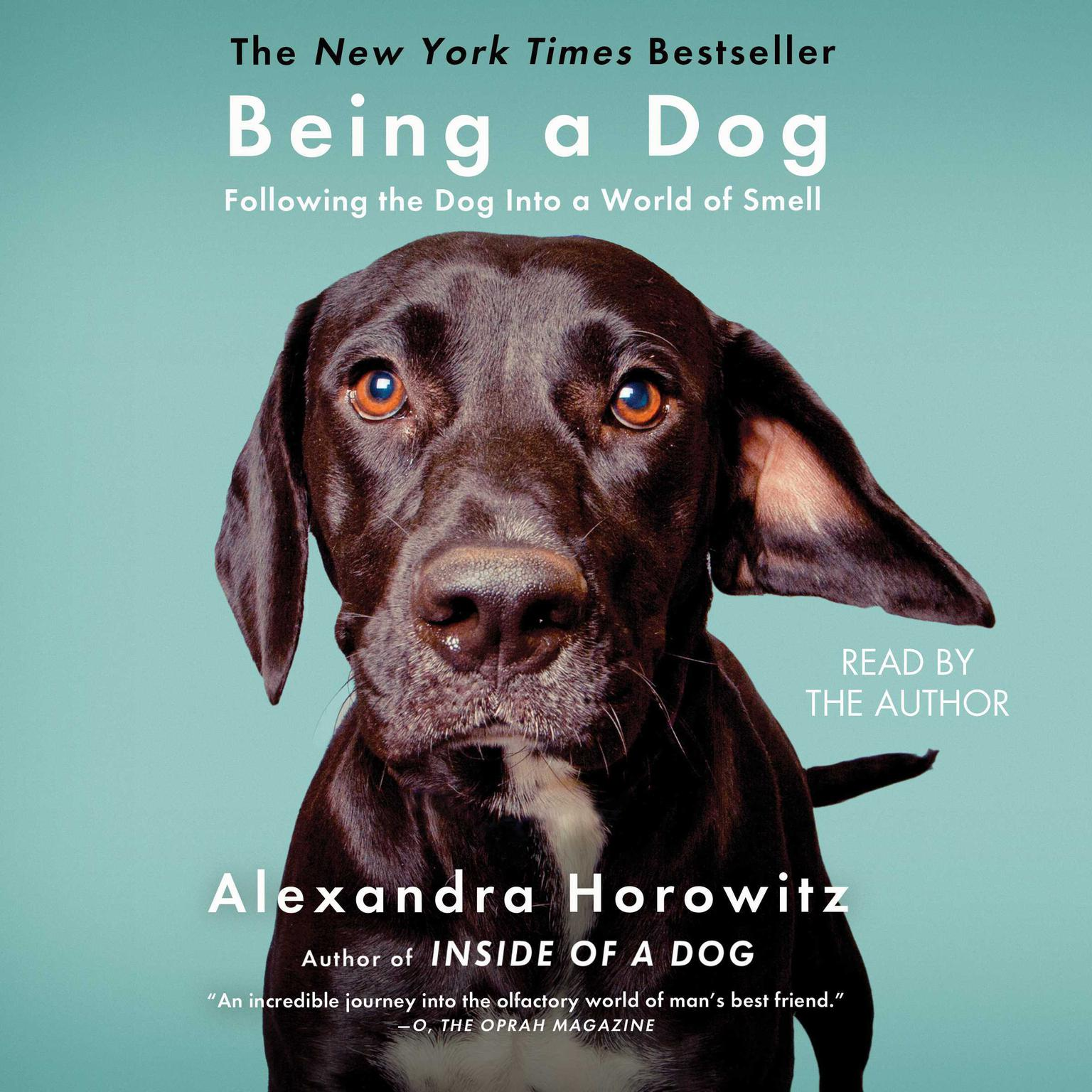 Printable Being a Dog Audiobook Cover Art