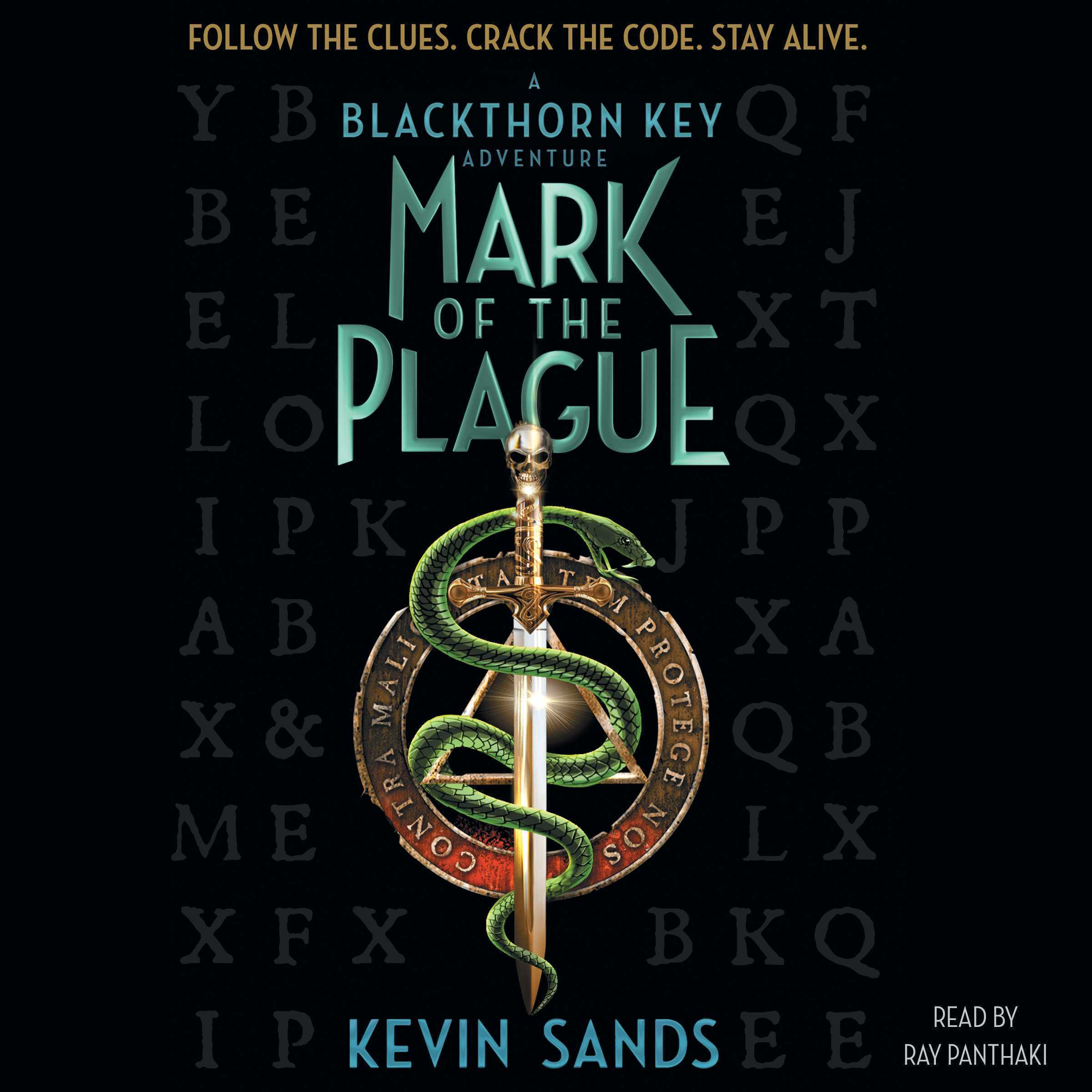 Printable Mark of the Plague Audiobook Cover Art
