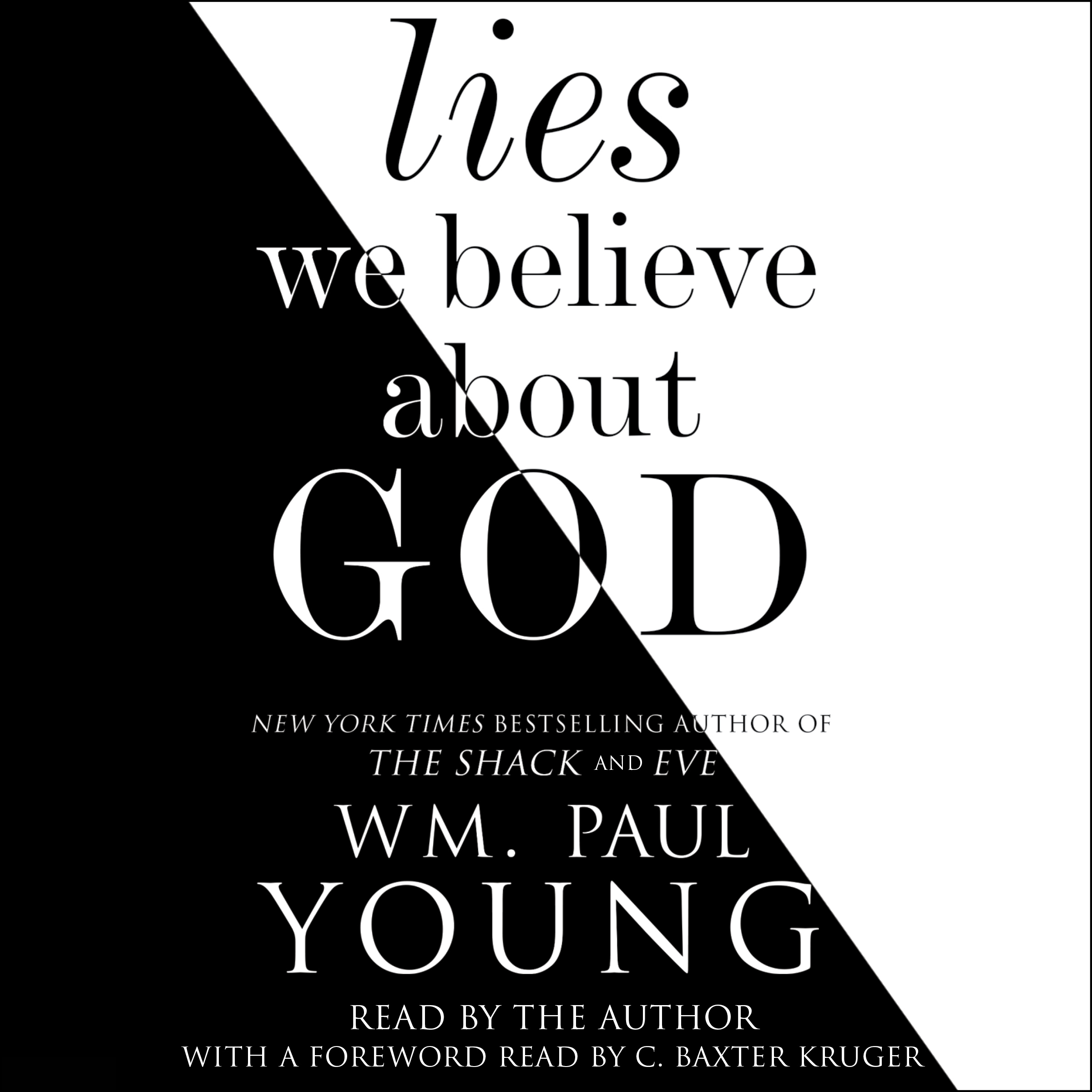 Printable Lies We Believe About God Audiobook Cover Art