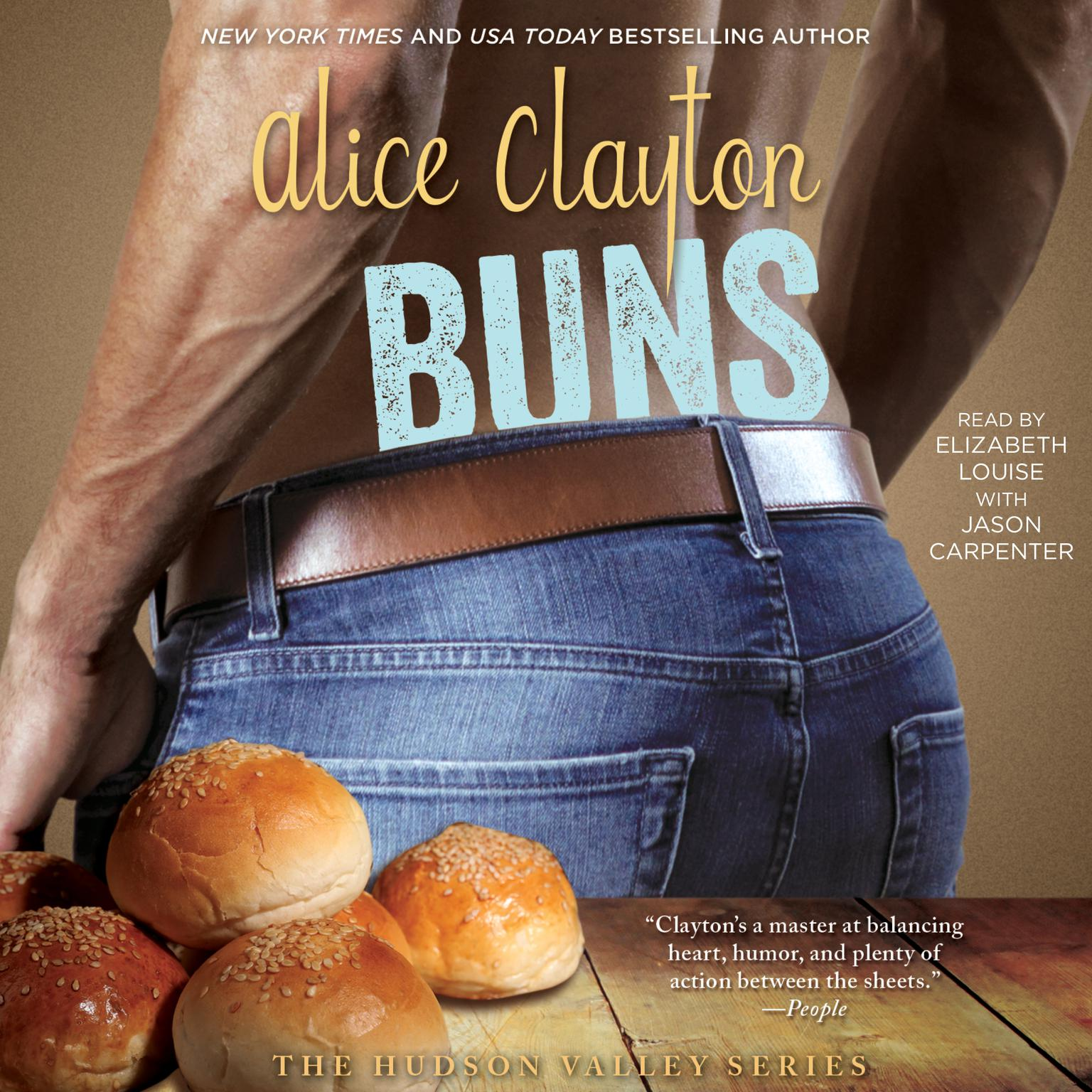 Printable Buns Audiobook Cover Art