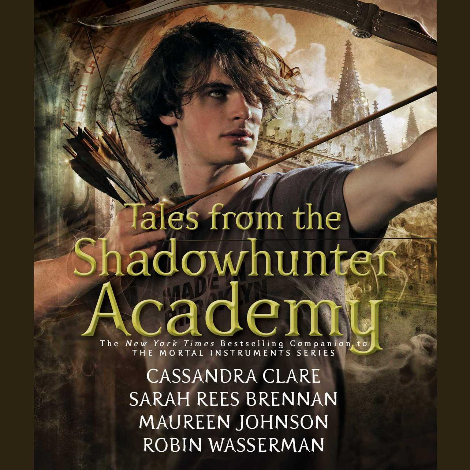 Printable Tales from the Shadowhunter Academy Audiobook Cover Art