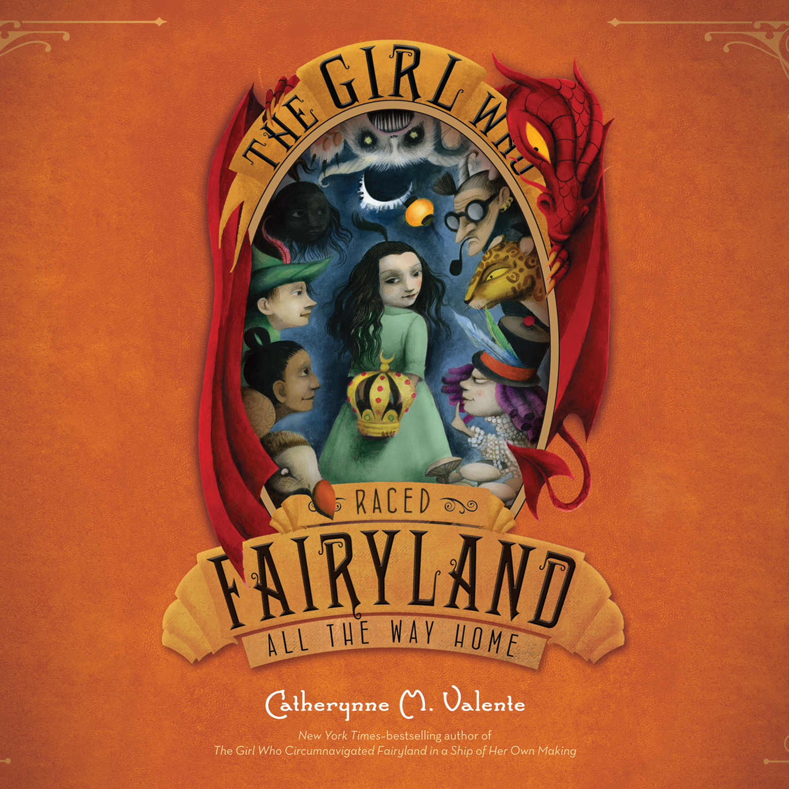 Printable The Girl Who Raced Fairyland All the Way Home Audiobook Cover Art
