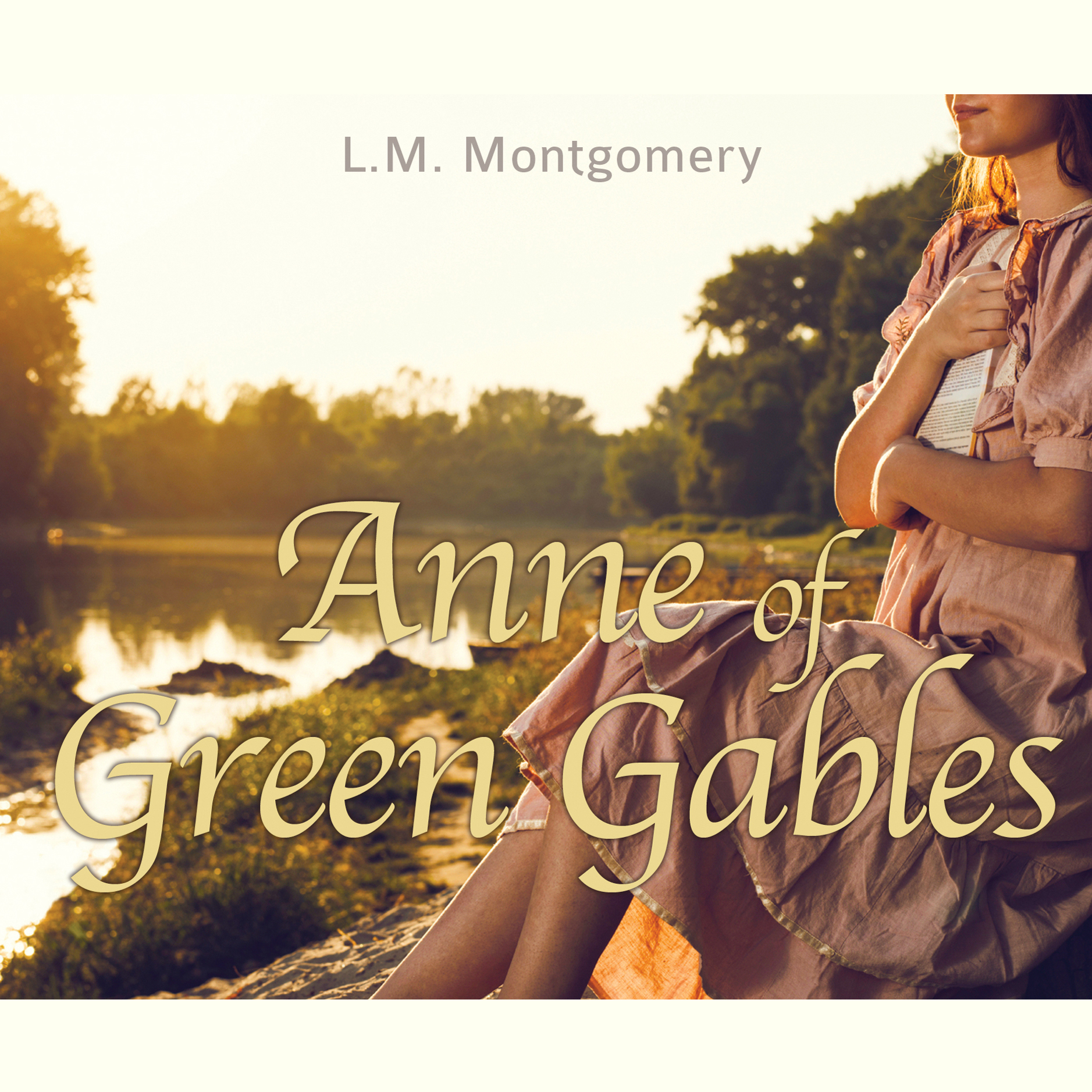 Printable Anne of Green Gables Audiobook Cover Art