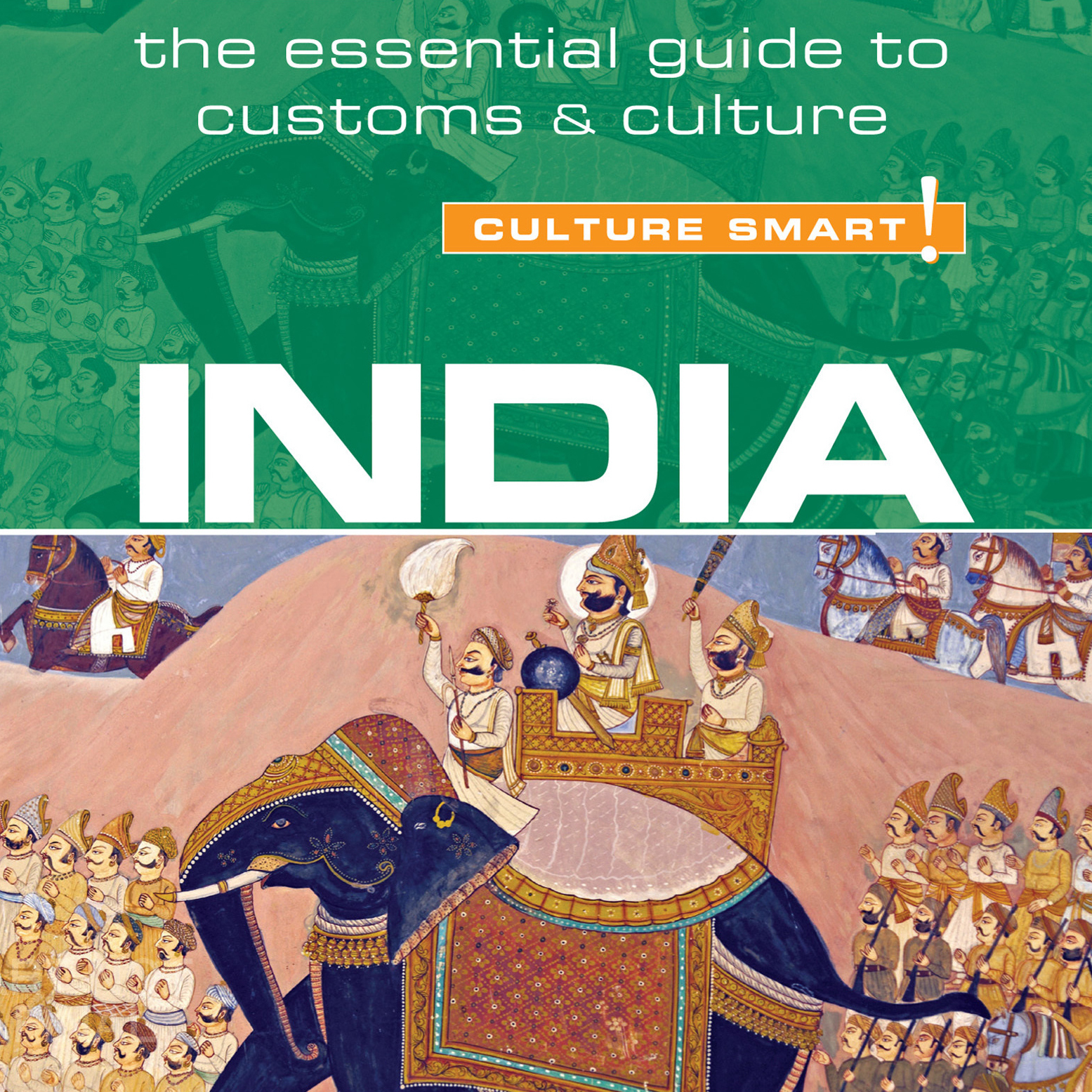Printable India - Culture Smart! Audiobook Cover Art